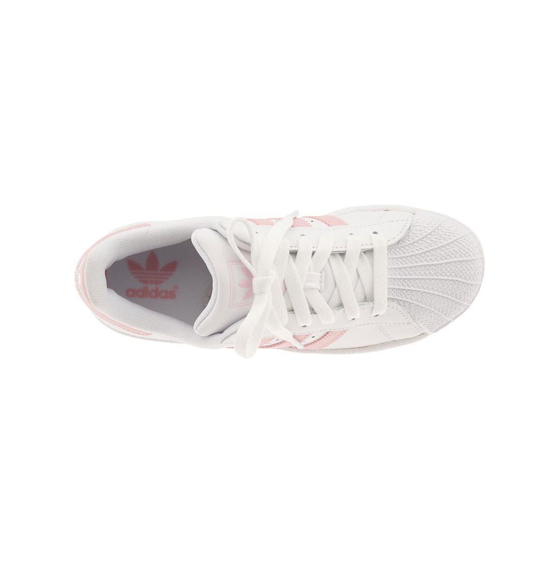'Superstar II' Sneaker,                             Alternate thumbnail 7, color,                             FTWR WHITE