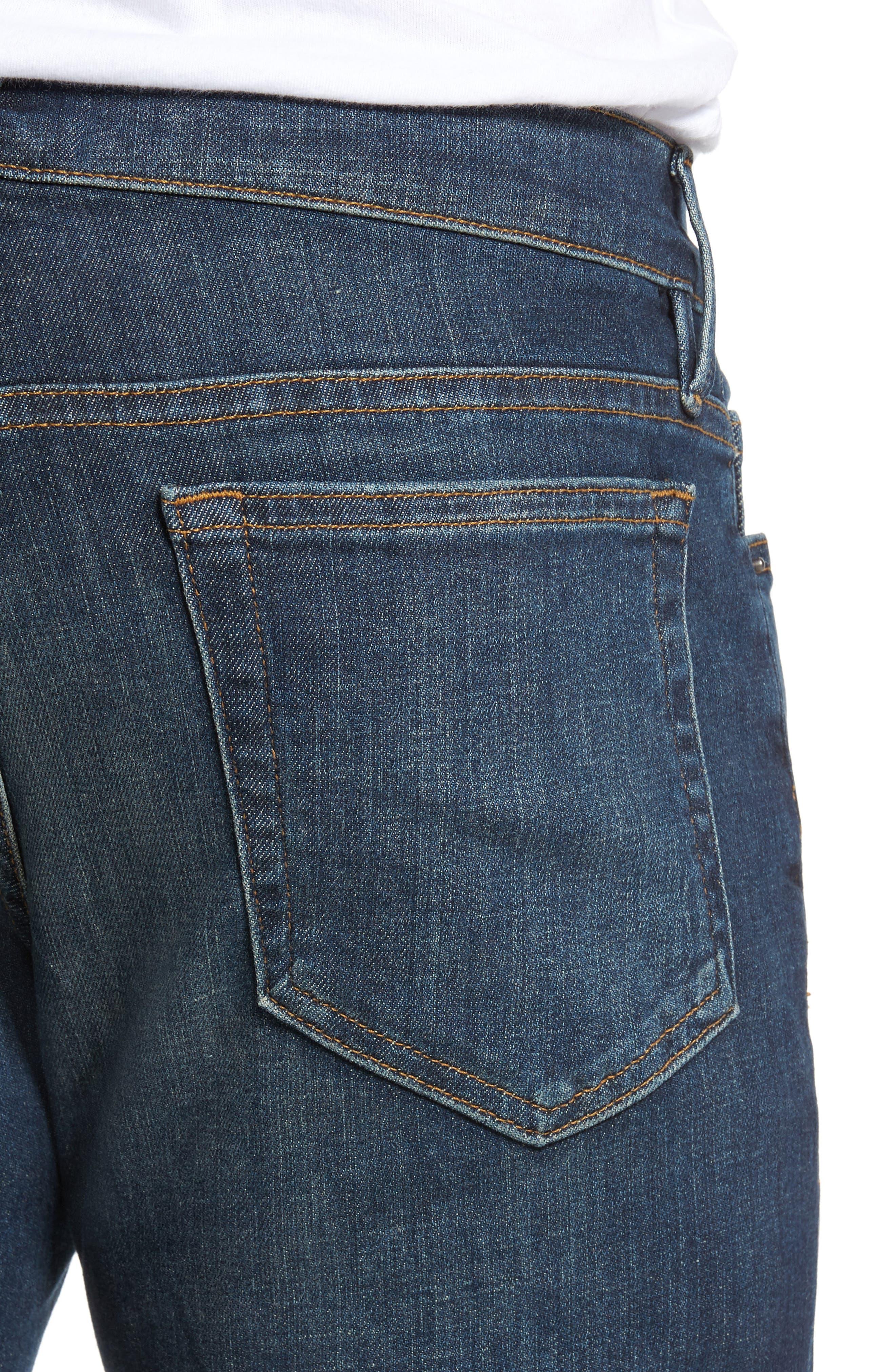 L'Homme Slim Fit Jeans,                             Alternate thumbnail 4, color,                             420