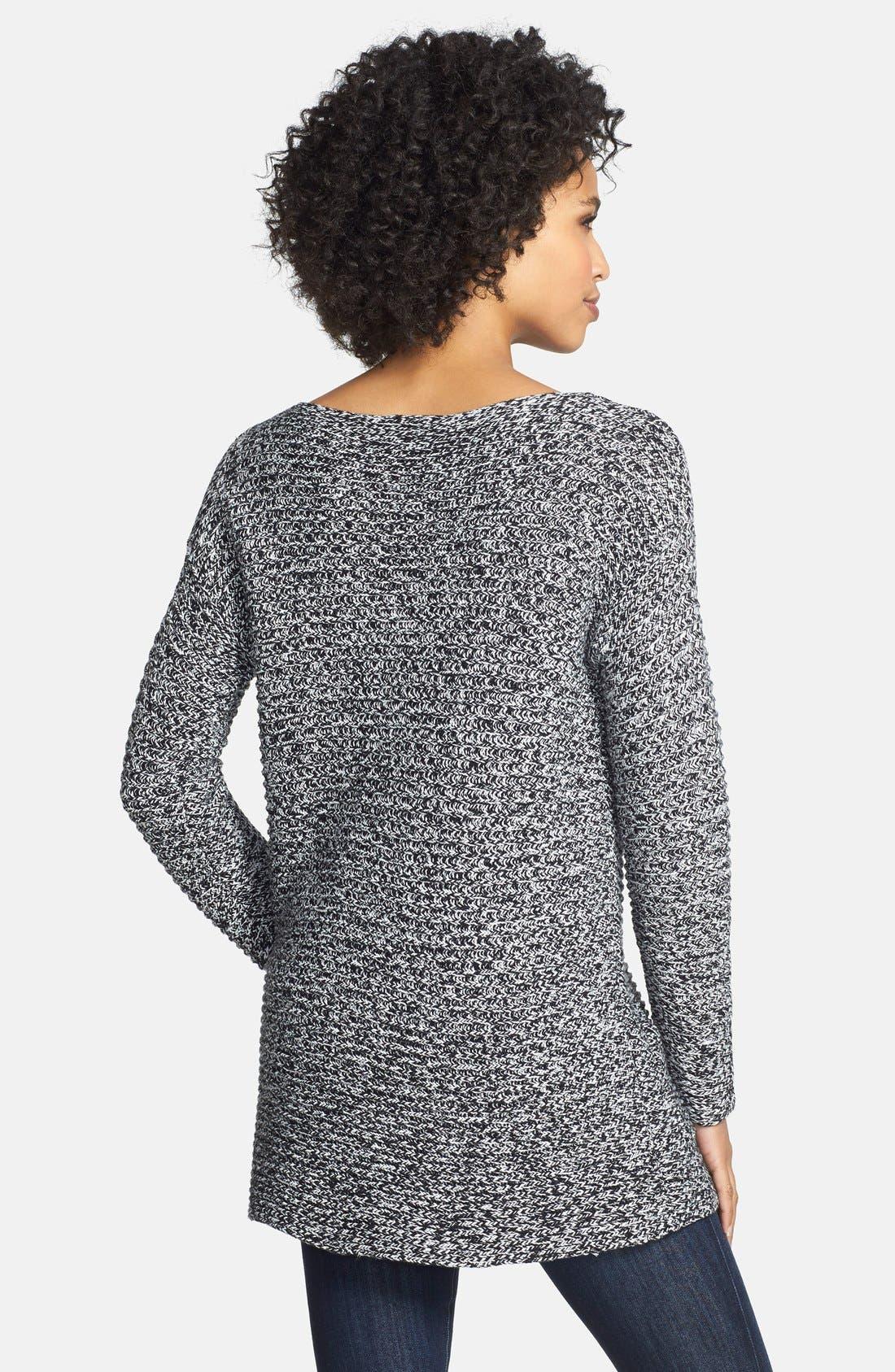 Boatneck Sweater,                             Alternate thumbnail 2, color,                             002