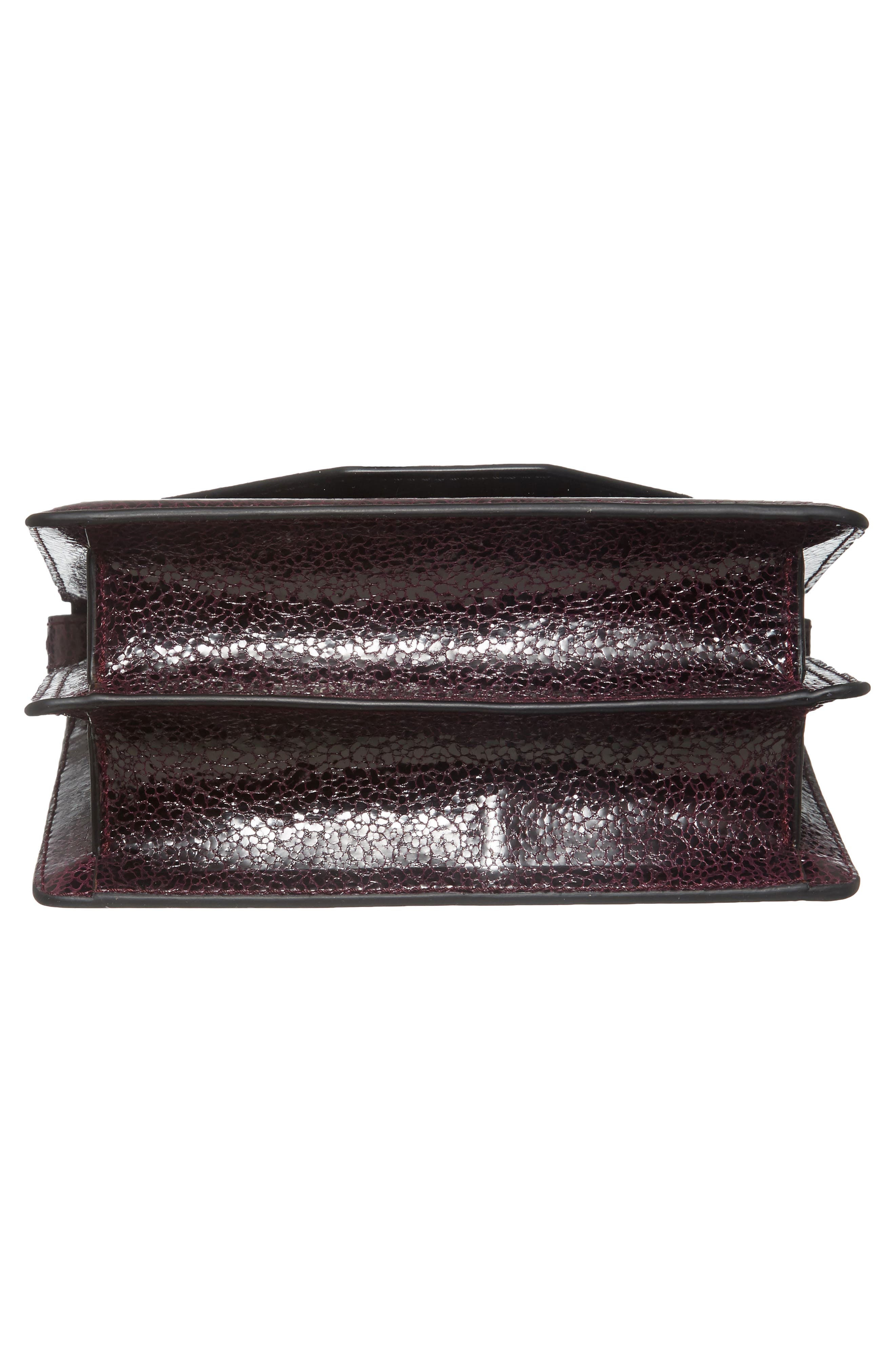 Indre Leather Shoulder Bag,                             Alternate thumbnail 6, color,                             930