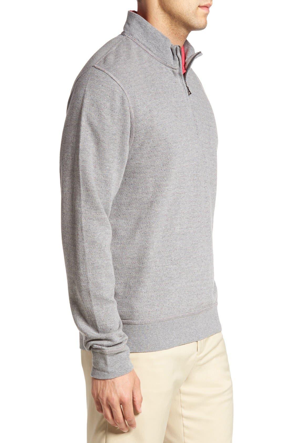 'Gleann' Quarter Zip Pullover,                             Alternate thumbnail 3, color,
