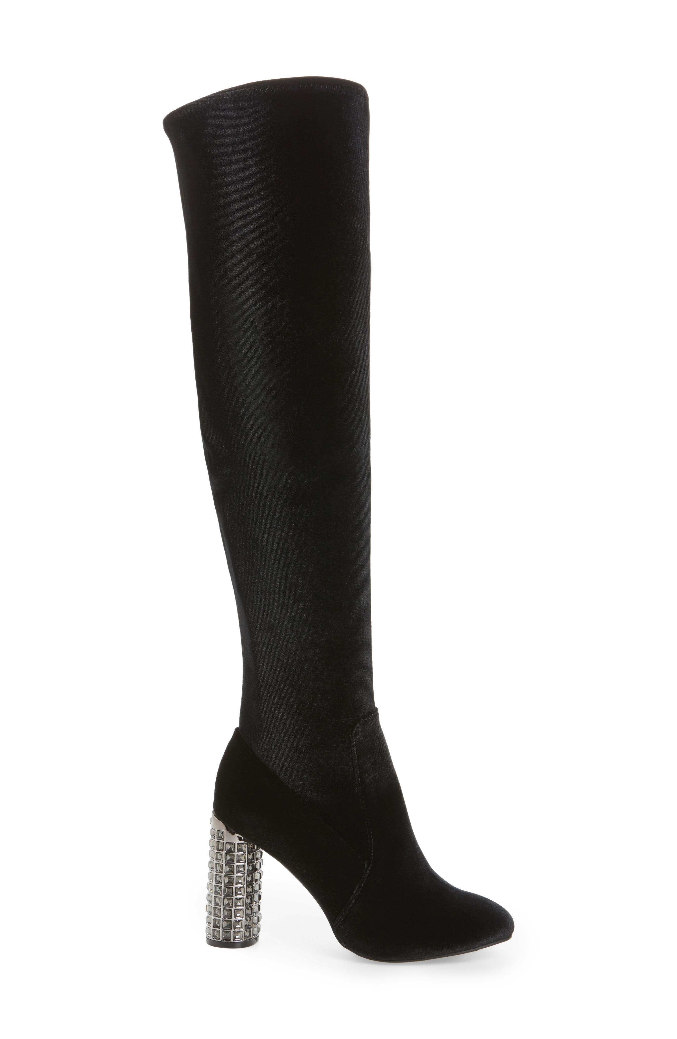 Itzela Over the Knee Boot,                             Alternate thumbnail 3, color,                             003