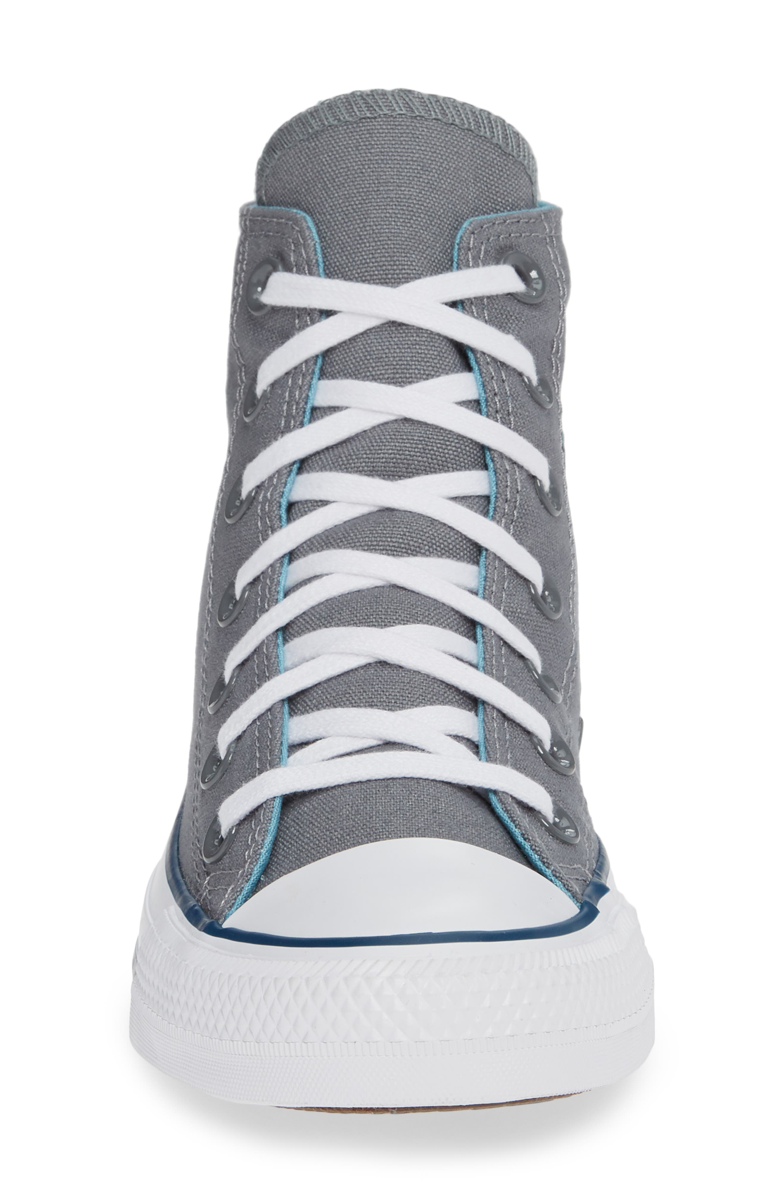 Chuck Taylor<sup>®</sup> All Star<sup>®</sup> Seasonal Hi Sneaker,                             Alternate thumbnail 4, color,                             039
