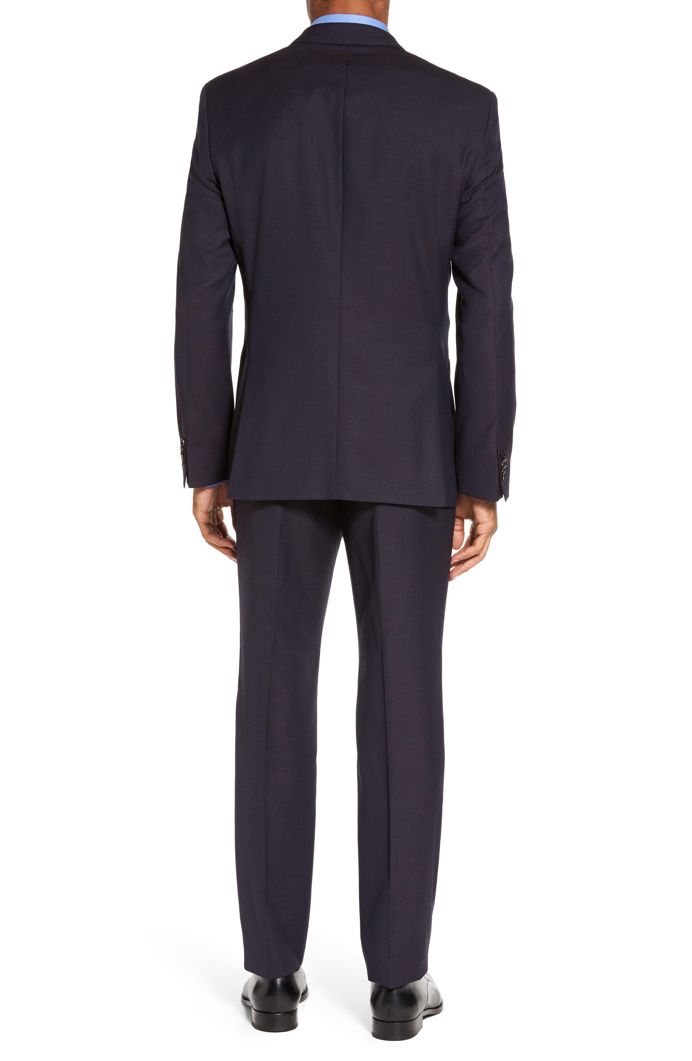 Huge/Genius Trim Fit Wool Suit,                             Alternate thumbnail 2, color,                             606