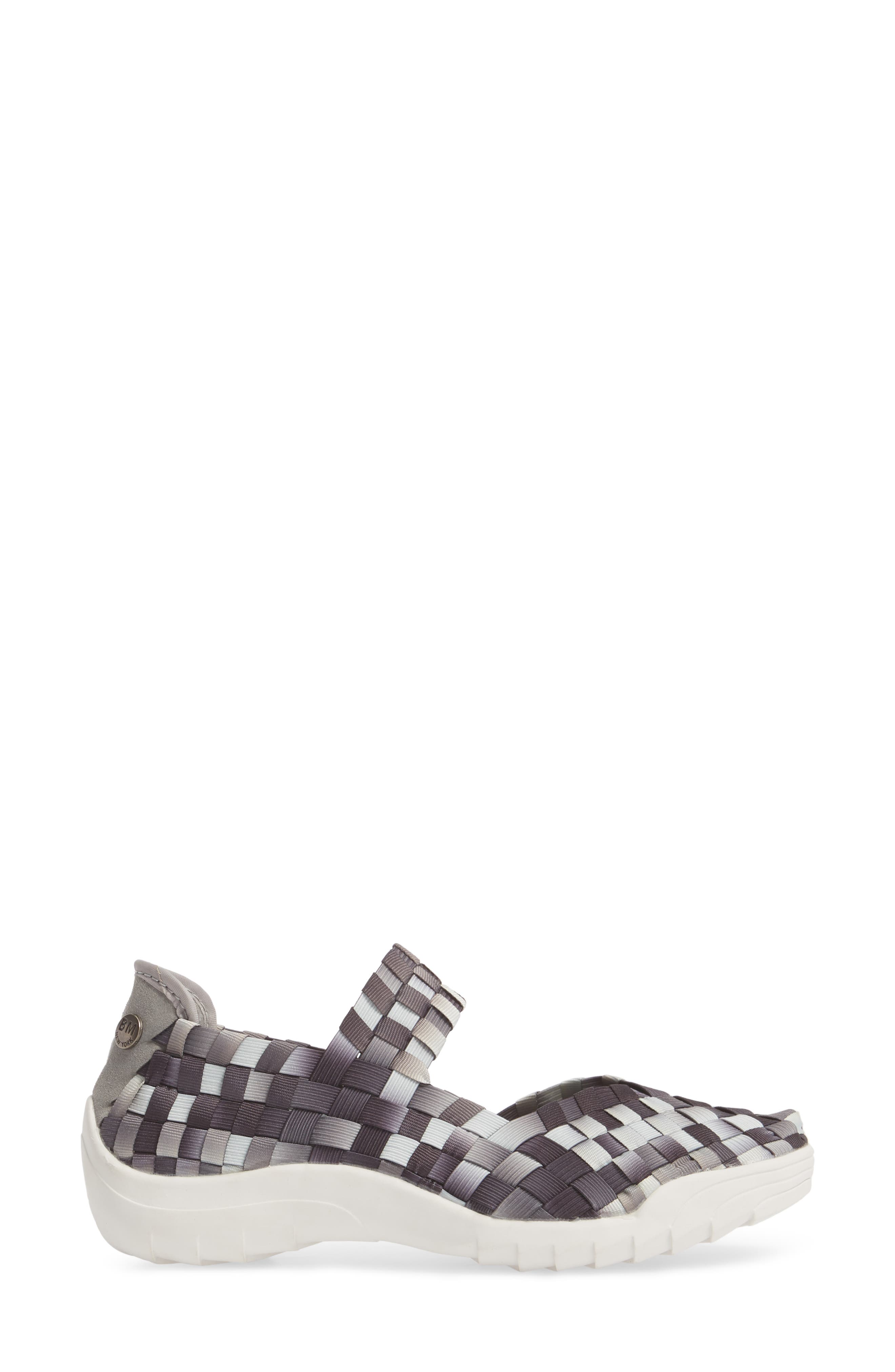 Rigged Charm Sneaker,                             Alternate thumbnail 3, color,                             GREY OMBRE