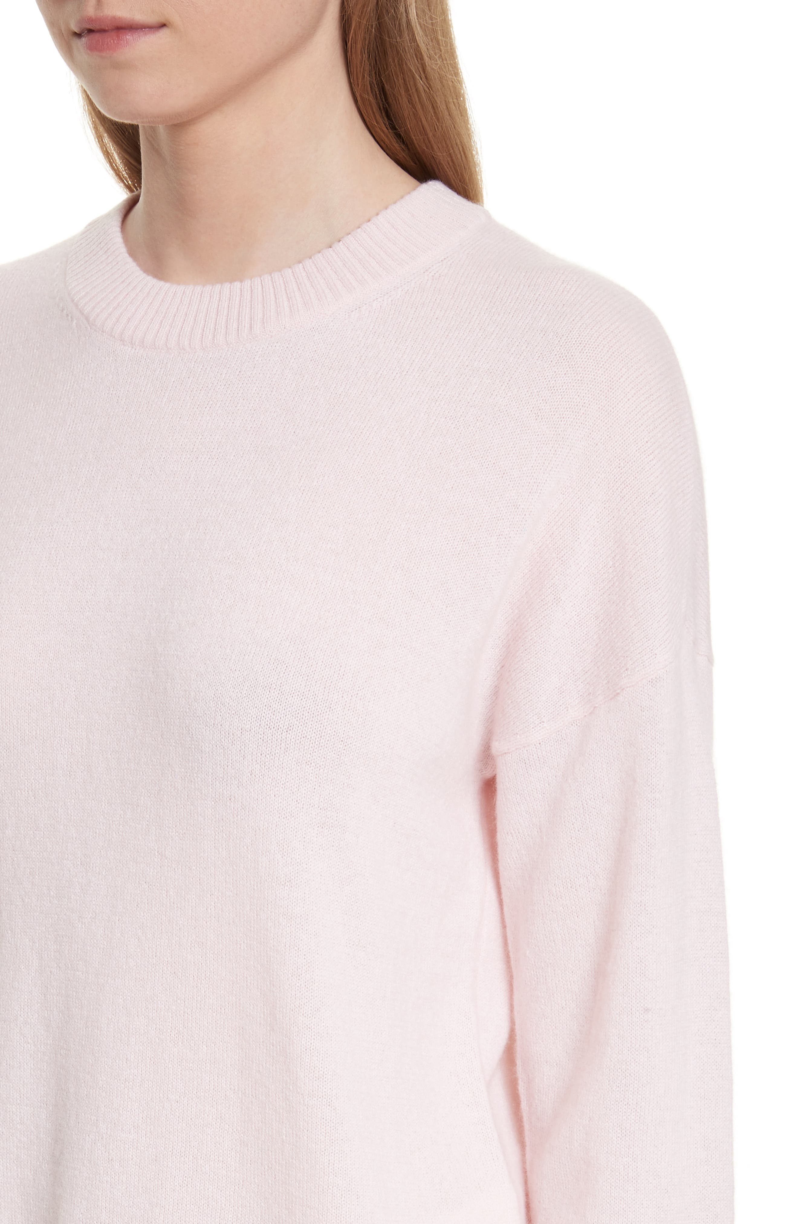 Bryce Oversize Cashmere Sweater,                             Alternate thumbnail 4, color,                             650