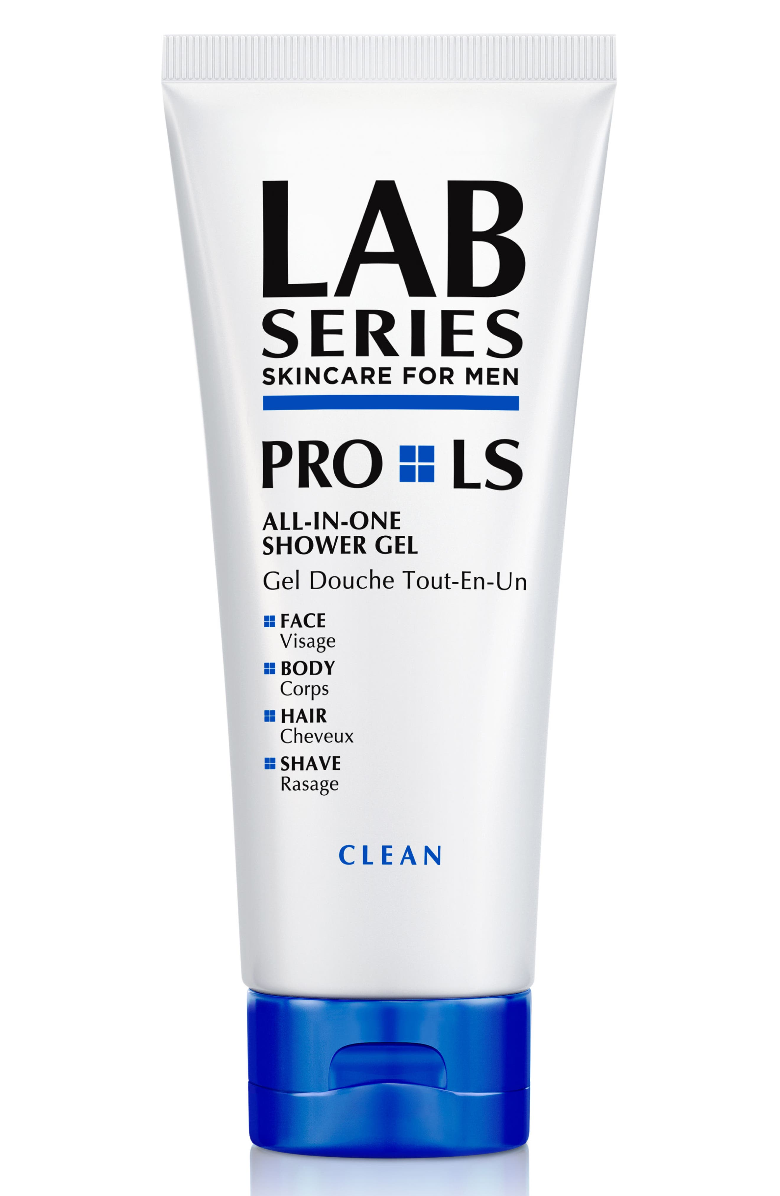 LAB SERIES SKINCARE FOR MEN,                             PRO LS All-in-One Shower Gel,                             Main thumbnail 1, color,                             000