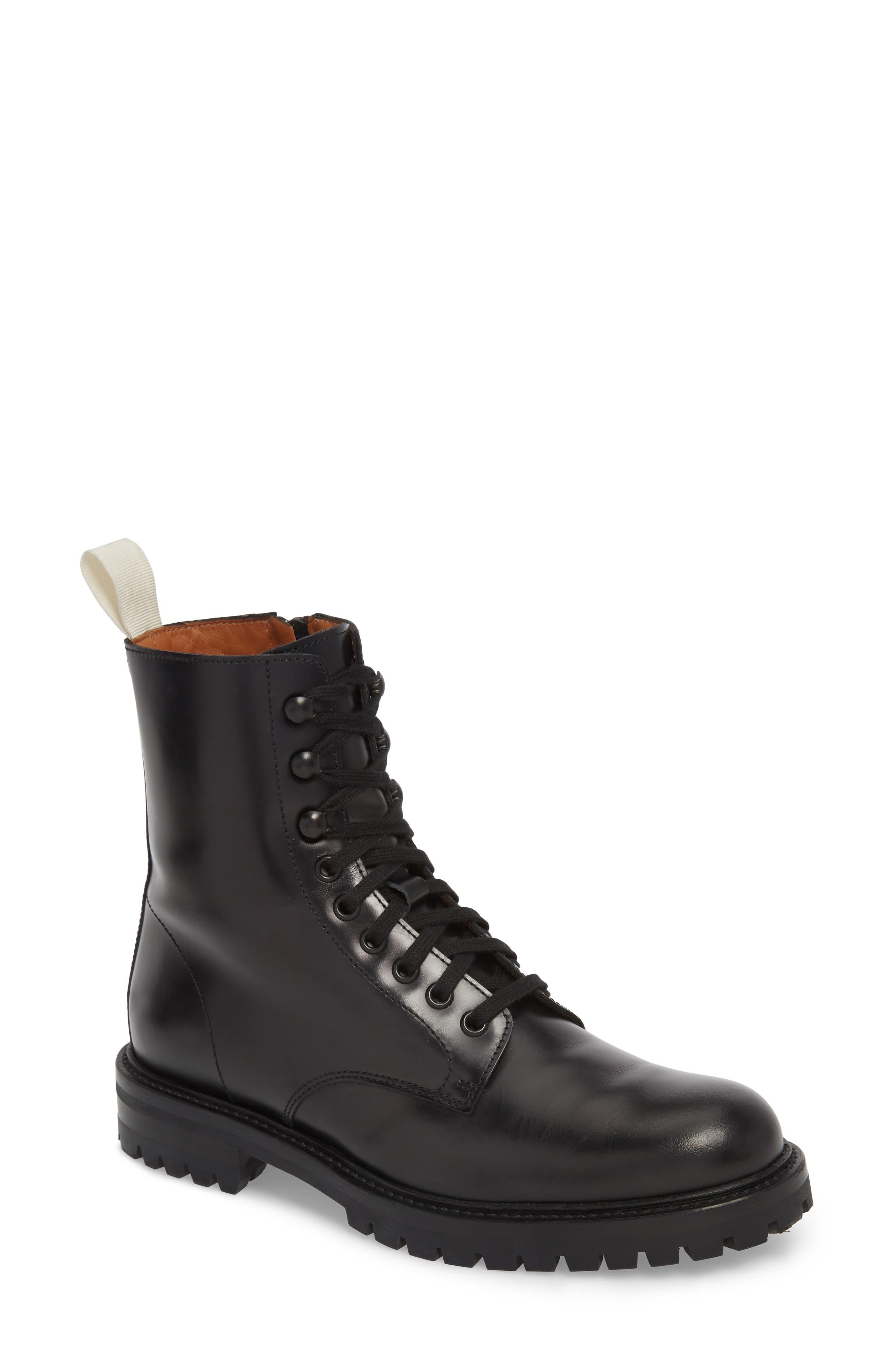 COMMON PROJECTS,                             Combat Boot,                             Main thumbnail 1, color,                             015