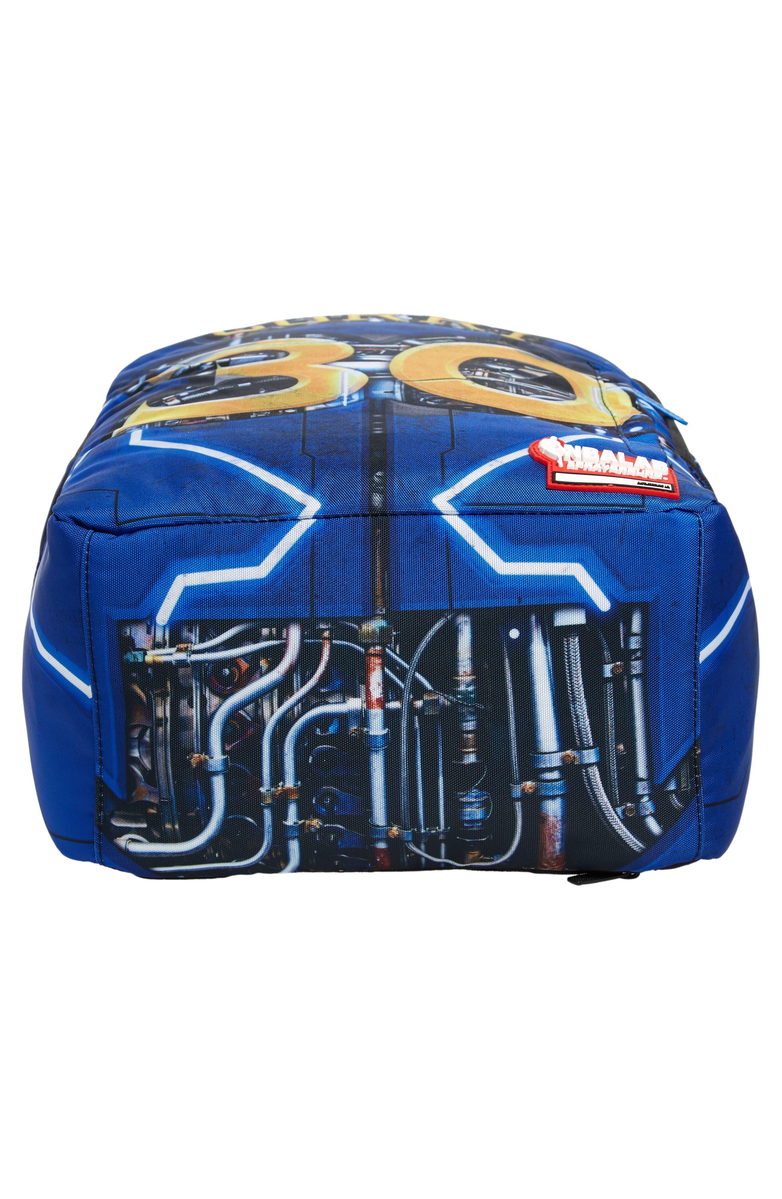 SPRAYGROUND,                             Curry Elysium Backpack,                             Alternate thumbnail 6, color,                             BLUE