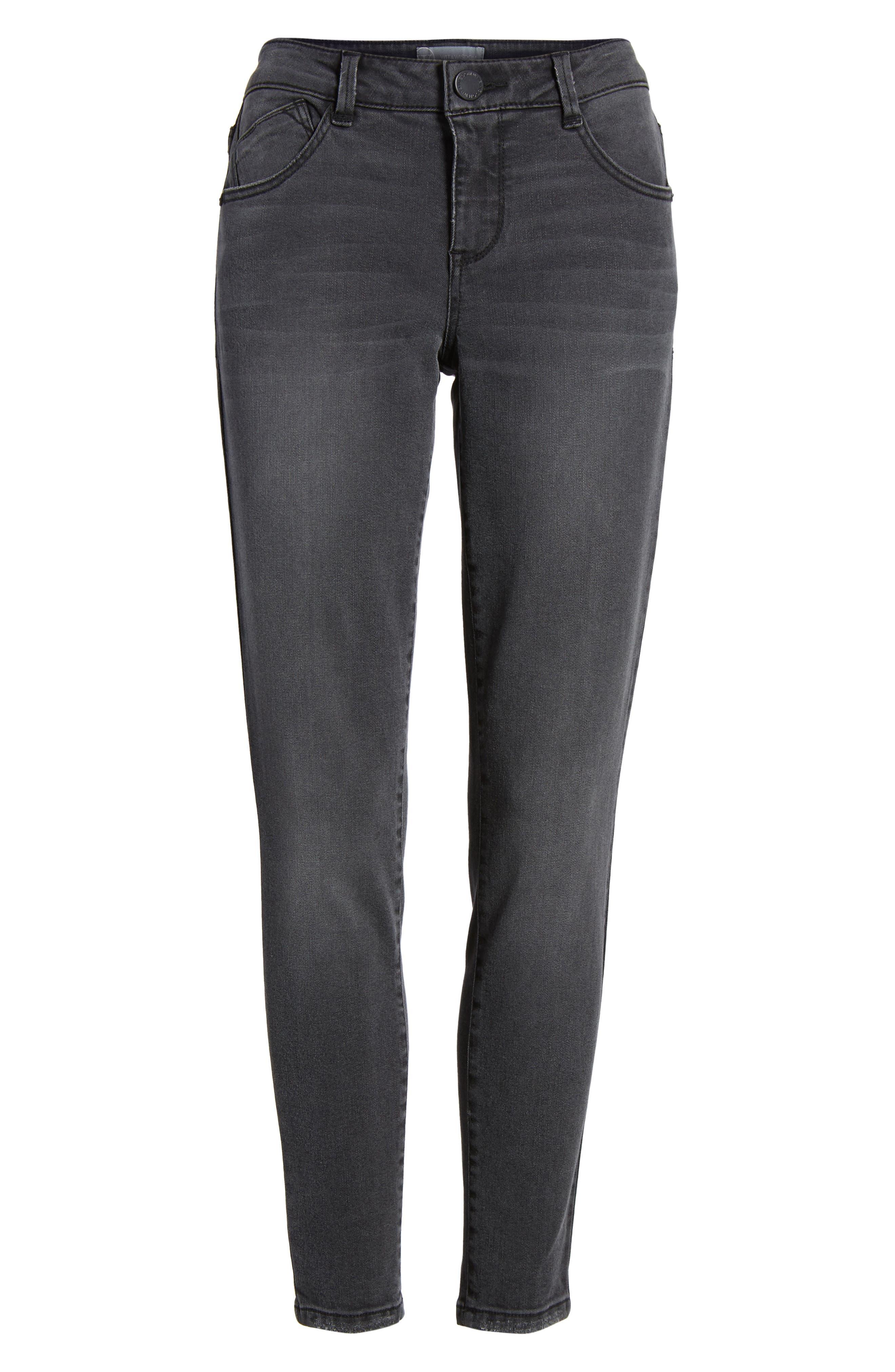 Skinny Ankle Jeans,                             Alternate thumbnail 7, color,                             020