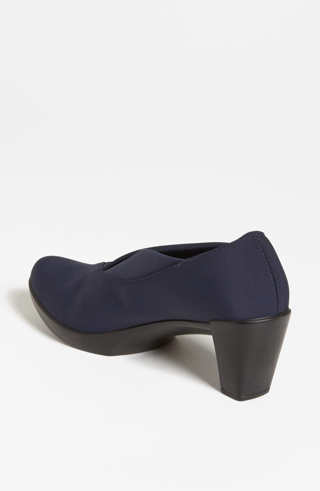 'Lucente' Pump,                             Alternate thumbnail 2, color,                             NAVY STRETCH