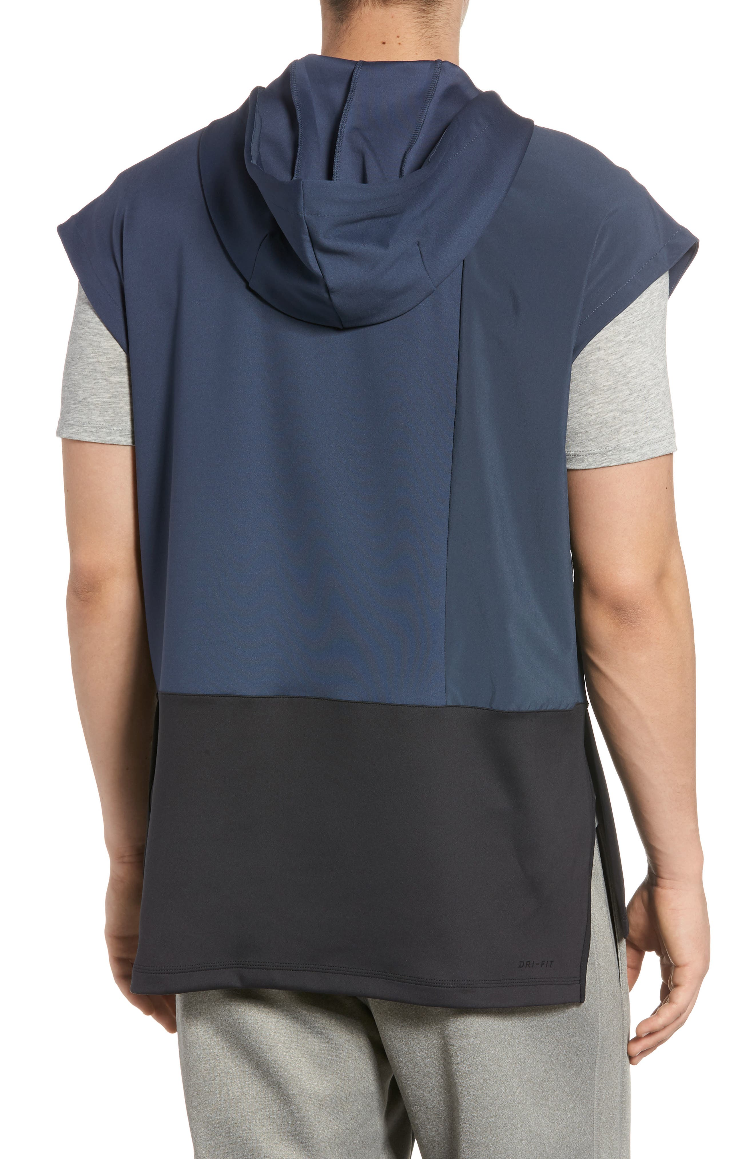 Dry Hooded Tank,                             Alternate thumbnail 2, color,                             THUNDER BLUE/ BLACK/ BLACK