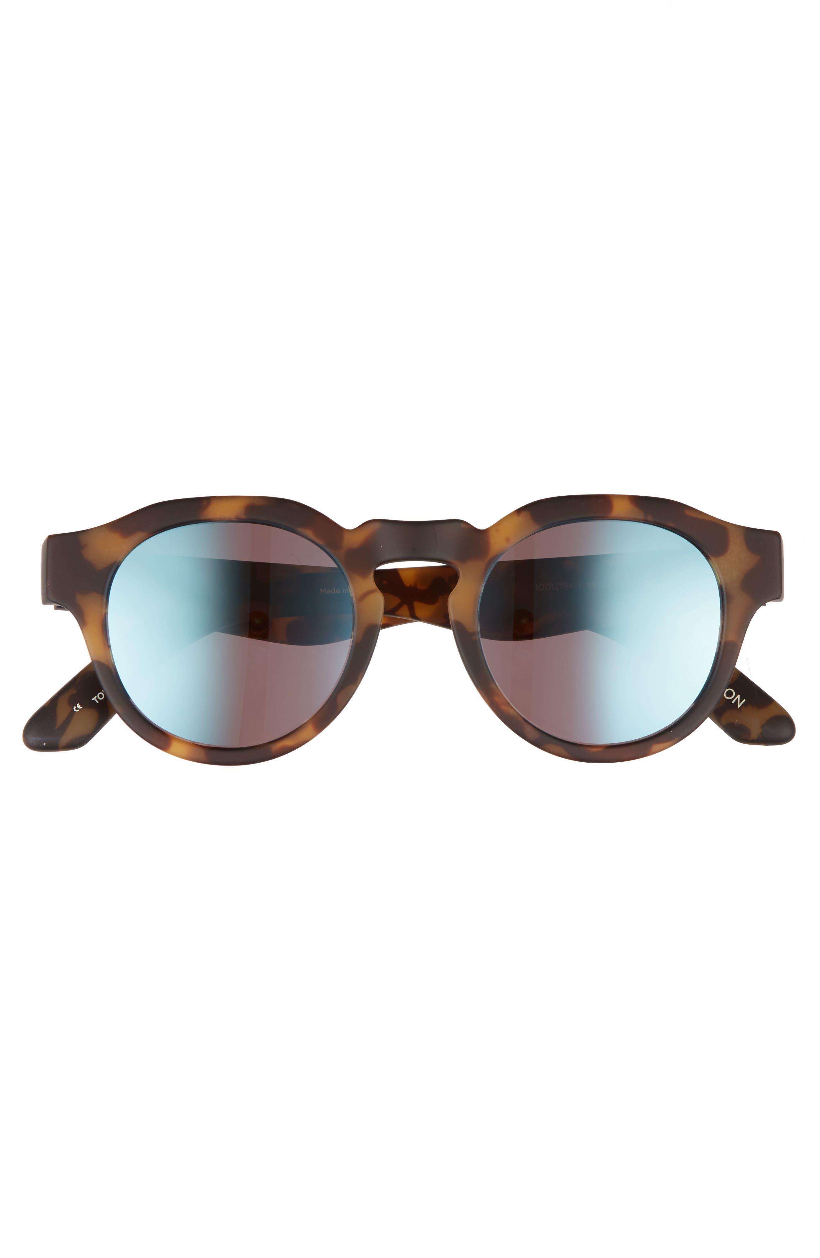 Bryton 48mm Sunglasses,                             Alternate thumbnail 2, color,                             BLONDE TORTOISE