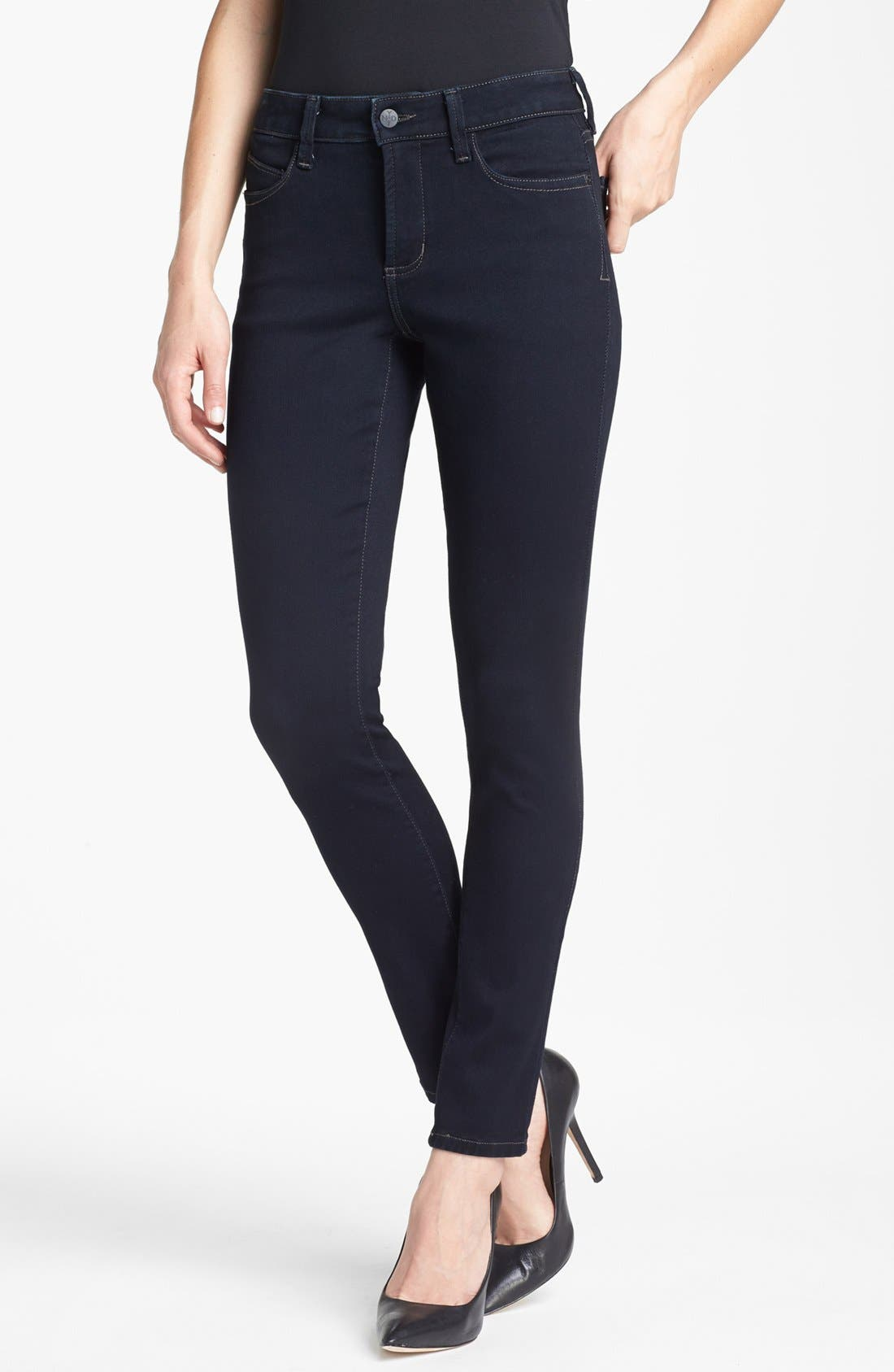 Alina Colored Stretch Skinny Jeans,                             Main thumbnail 26, color,