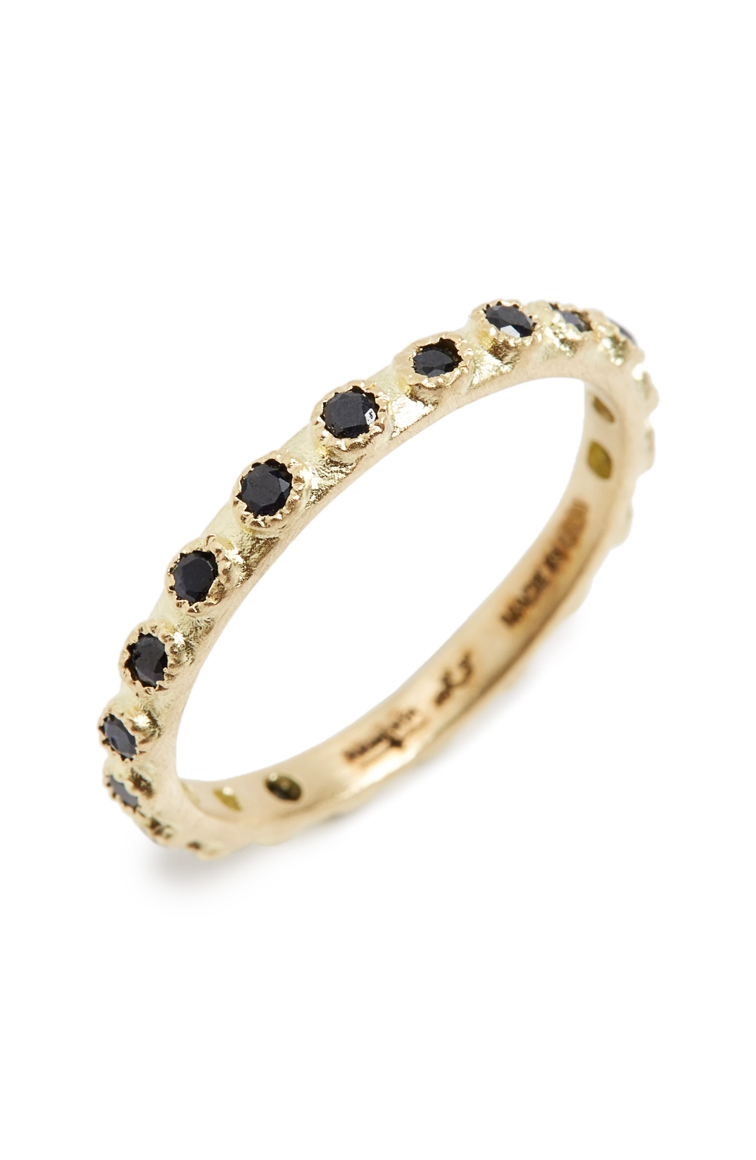 Old World Sapphire Stack Ring,                         Main,                         color, GOLD