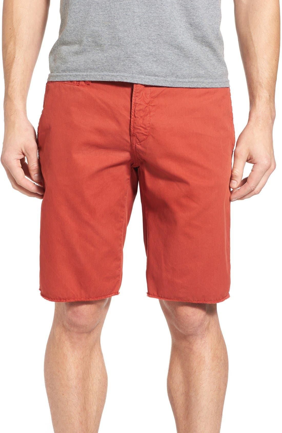 'St. Barts' Raw Edge Shorts,                             Main thumbnail 1, color,                             801