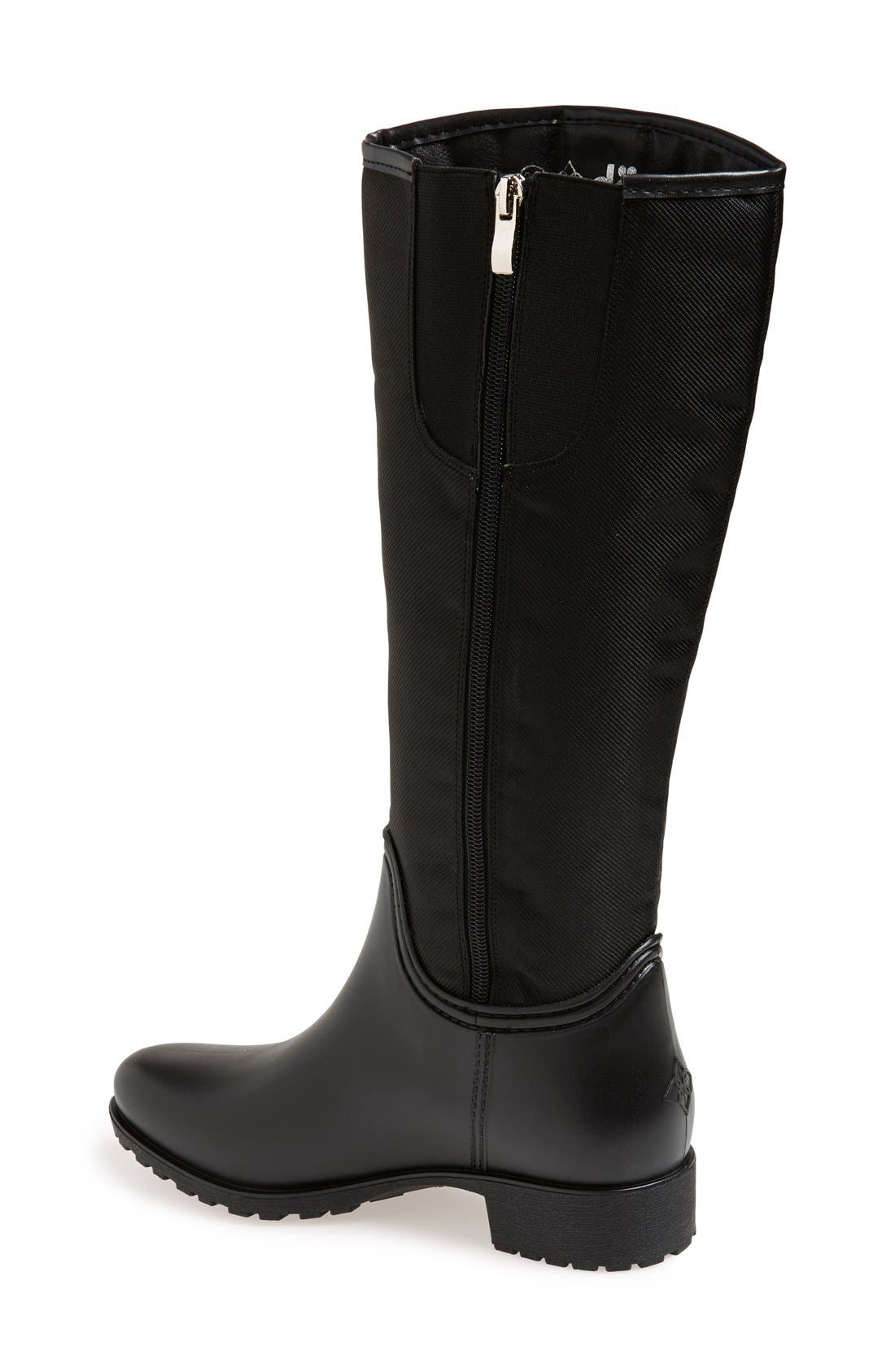 'Fairfield' Tall Rain Boot,                             Alternate thumbnail 2, color,                             006