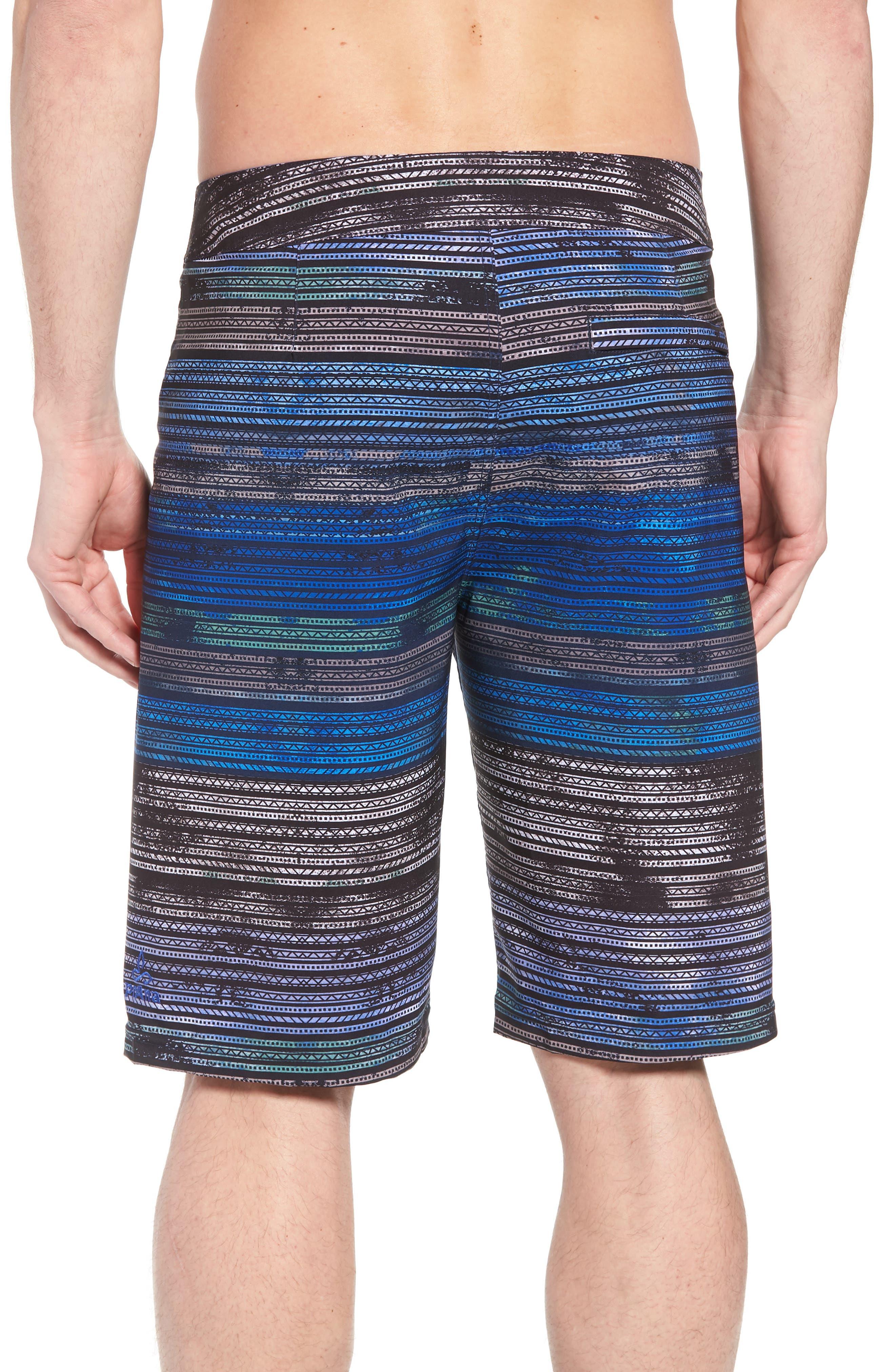 'Sediment' Stretch Board Shorts,                             Alternate thumbnail 21, color,