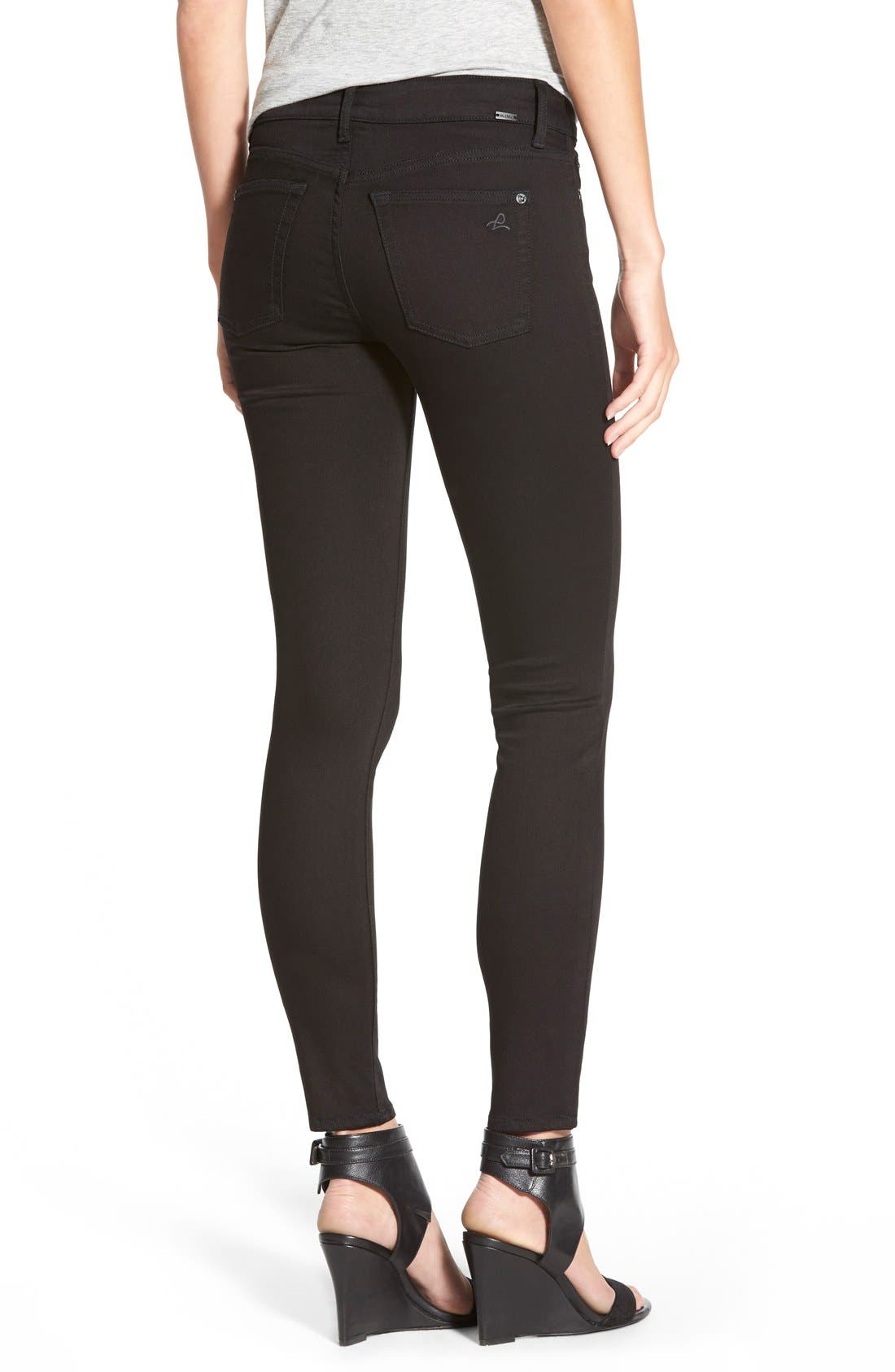 'Margaux' Instasculpt Ankle Skinny Jeans,                             Alternate thumbnail 3, color,                             HAIL