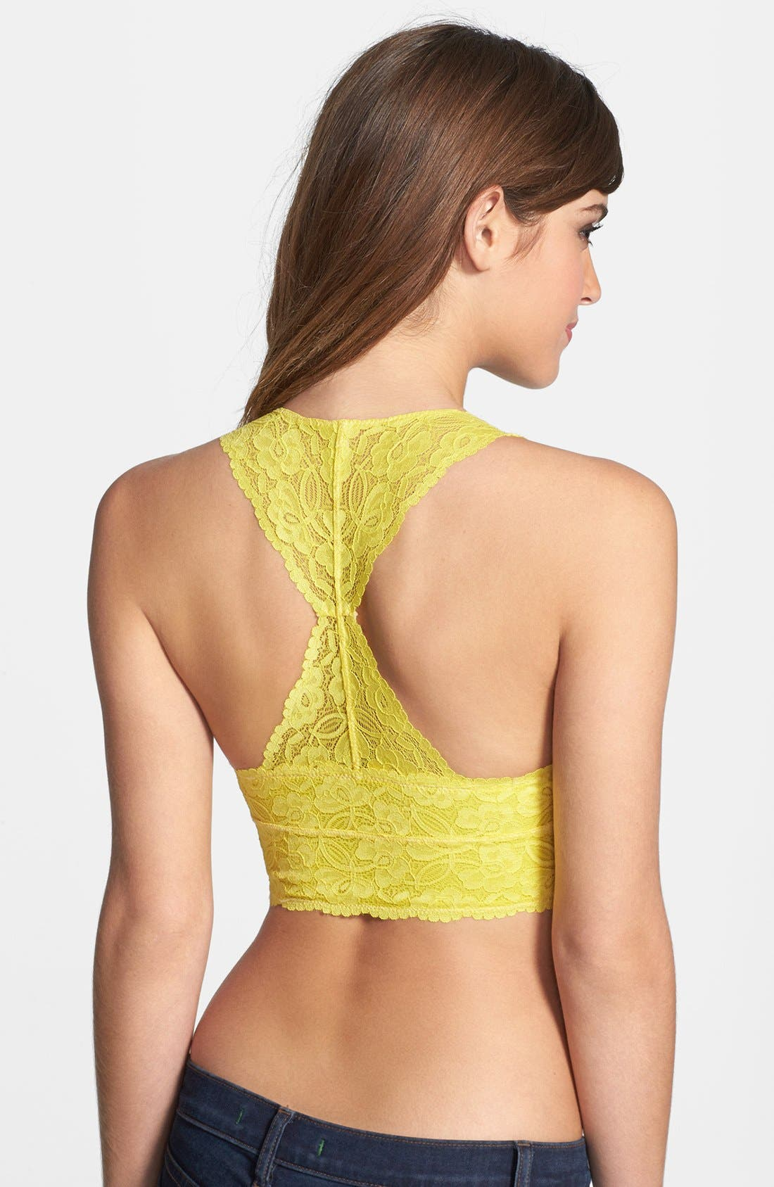 Racerback Galloon Lace Bralette,                             Alternate thumbnail 137, color,