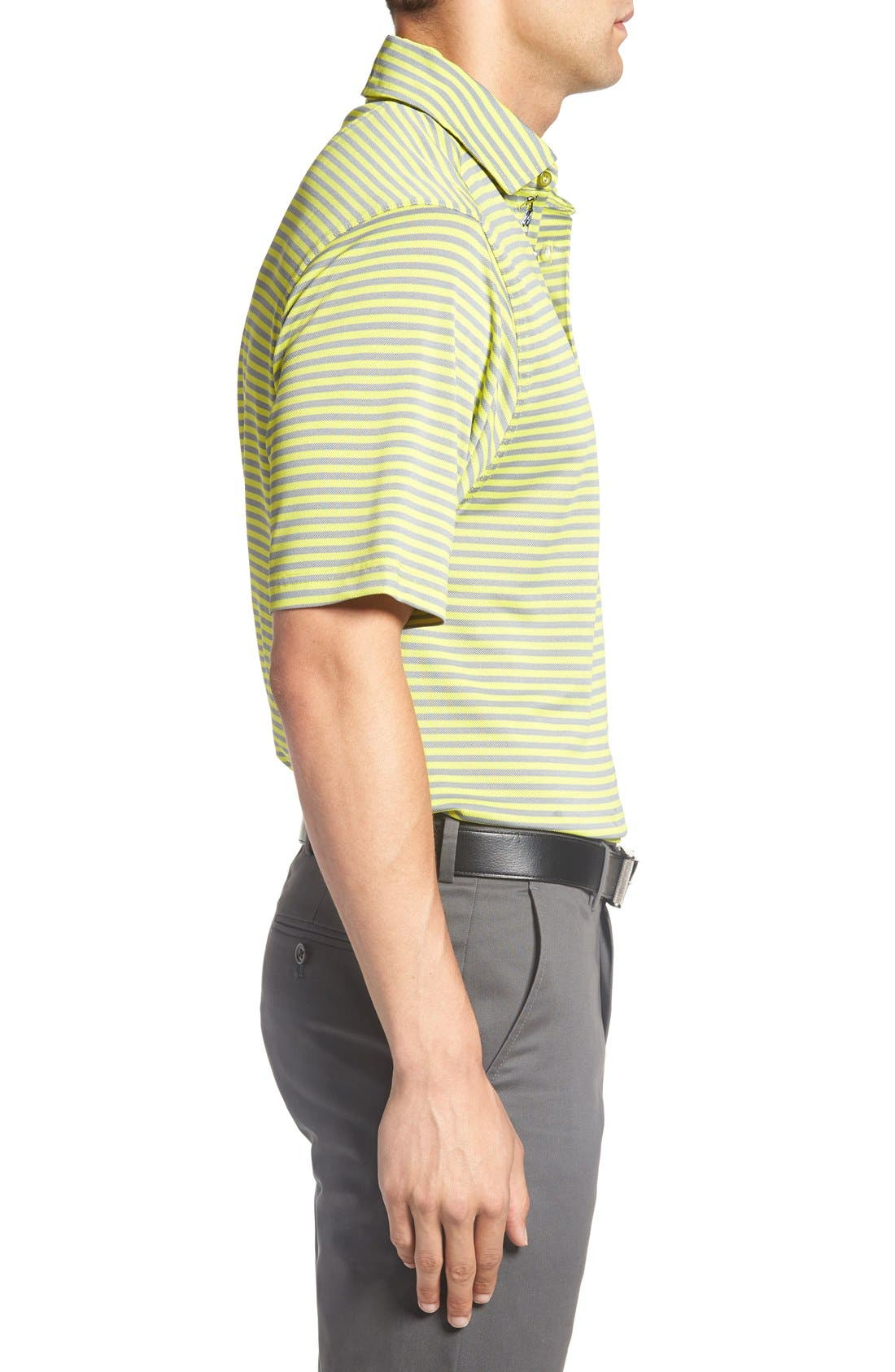 XH2O Feed Stripe Stretch Golf Polo,                             Alternate thumbnail 55, color,