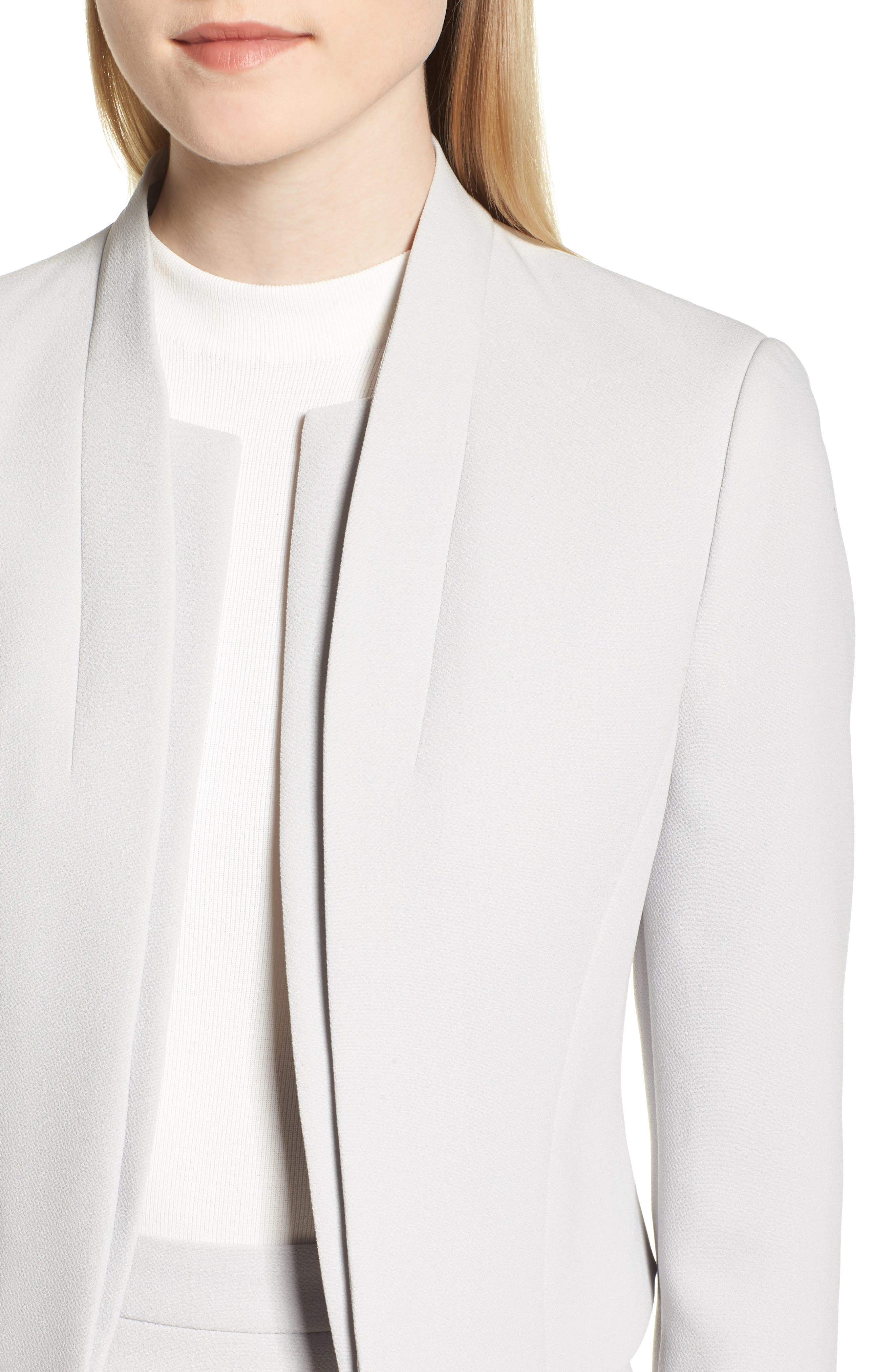 Jasika Crop Suit Jacket,                             Alternate thumbnail 4, color,                             021