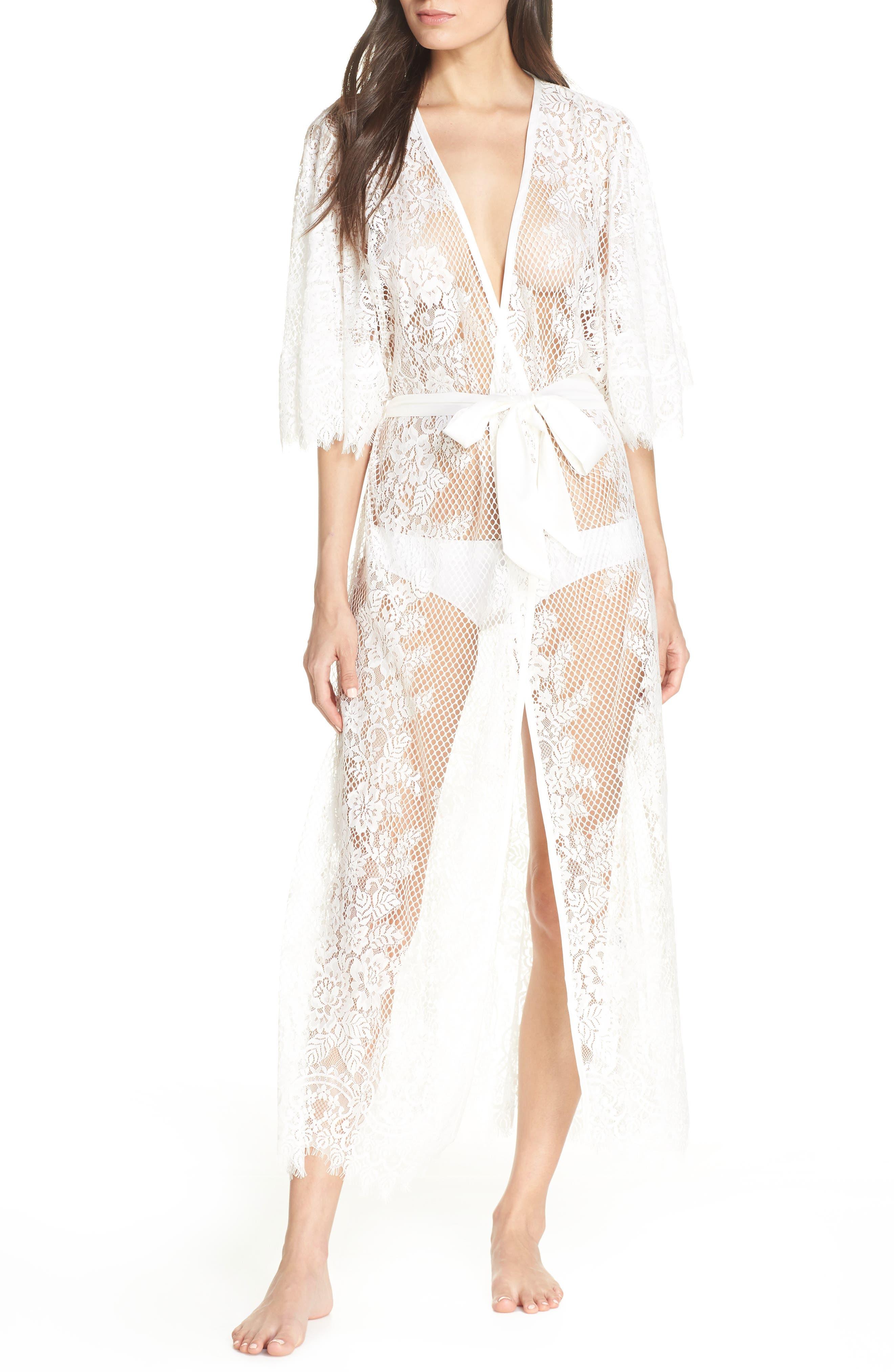 Leah Lace Wrap, Main, color, WHITE