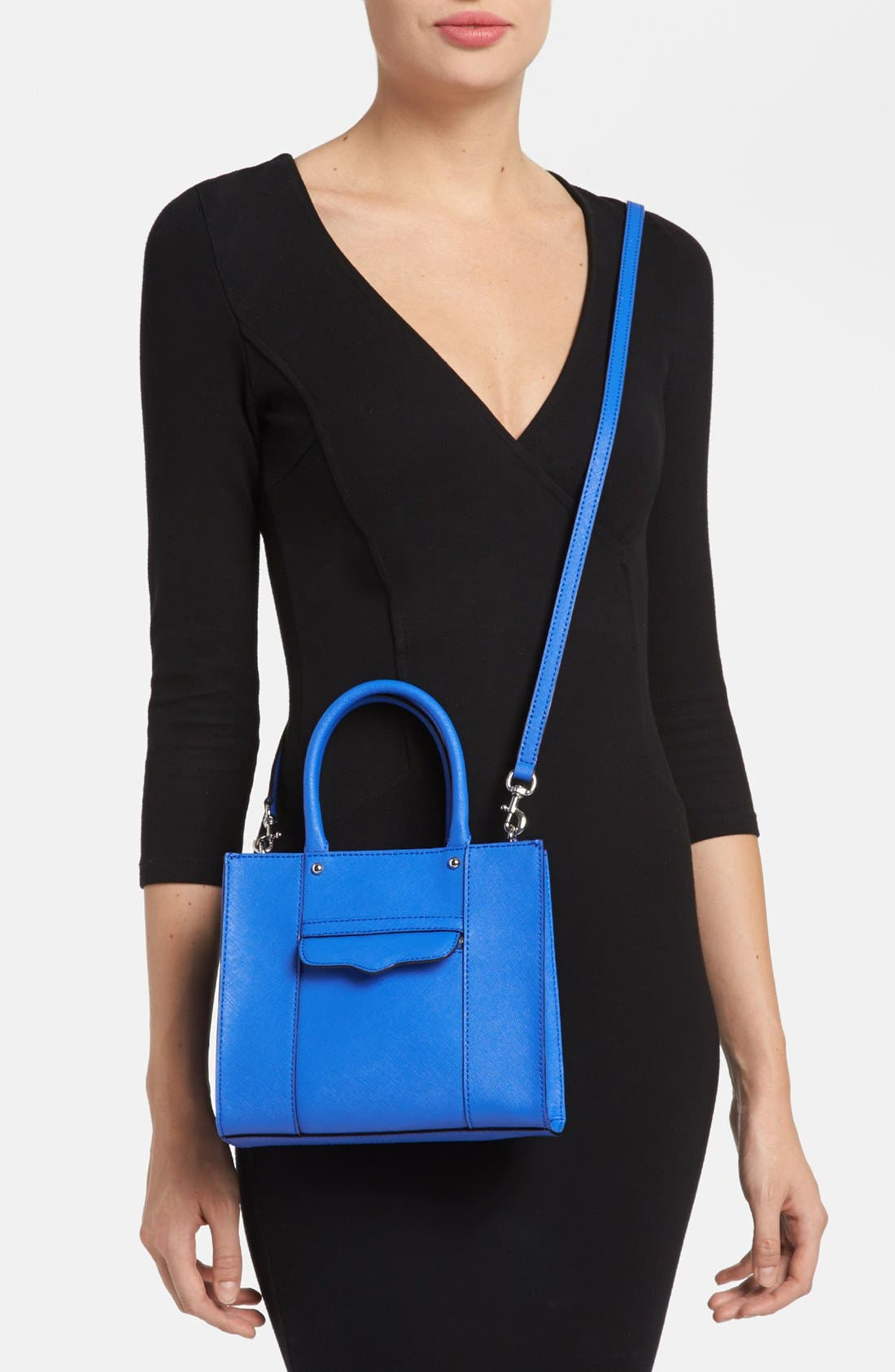 'Mini MAB Tote' Crossbody Bag,                             Alternate thumbnail 85, color,