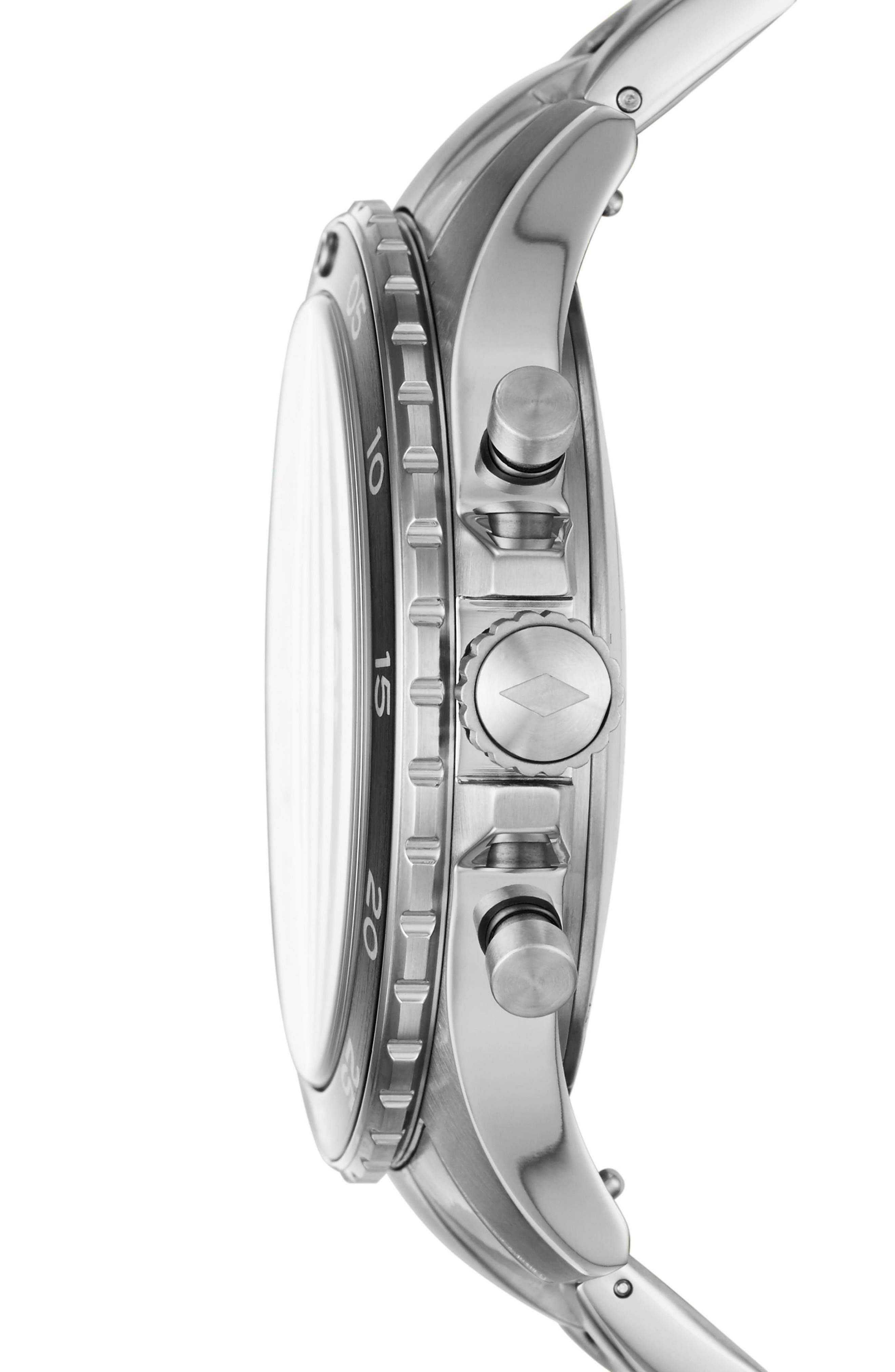 Crewmaster Smart Bracelet Watch, 46mm,                             Alternate thumbnail 3, color,                             045