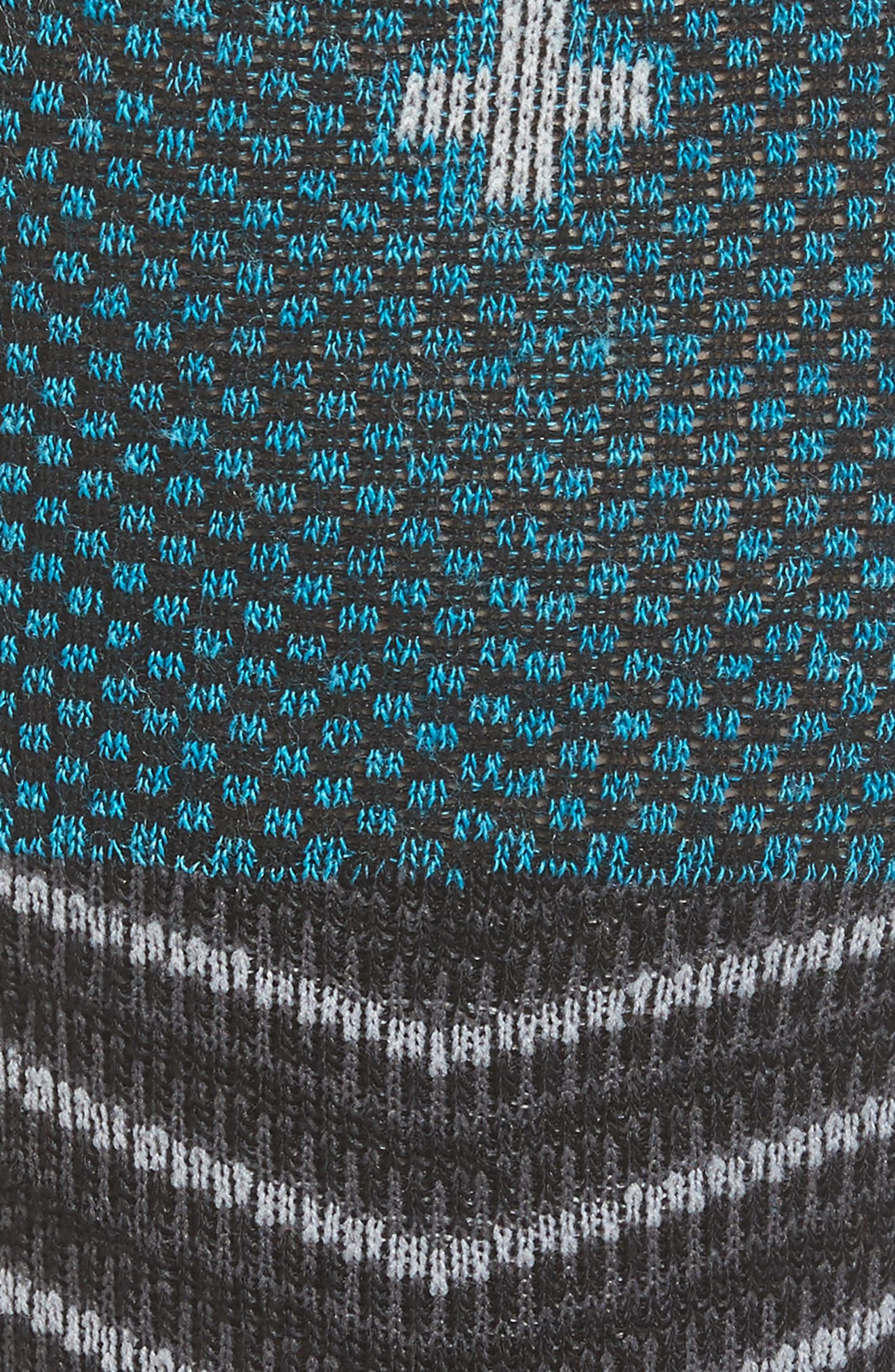 Ski Alpine Racer Compression Knee Socks,                             Alternate thumbnail 2, color,                             001