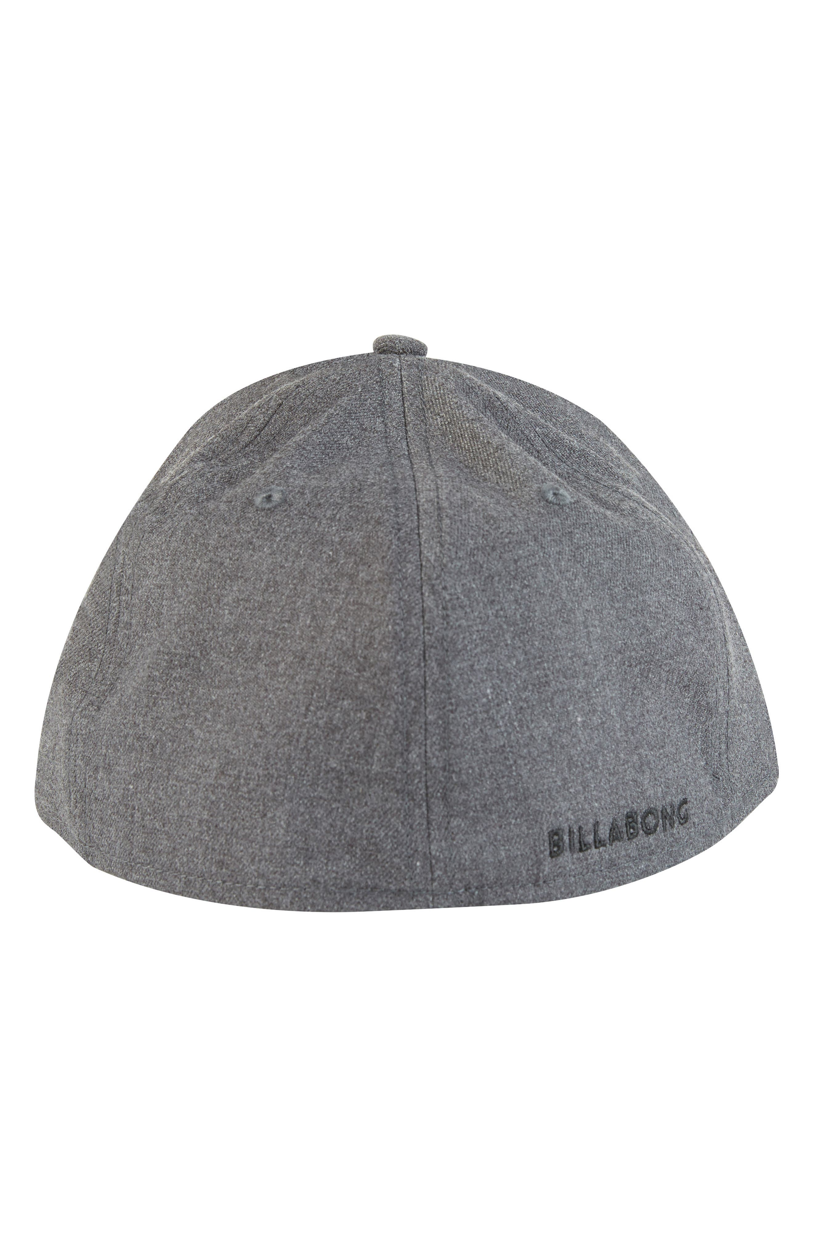 All Day Stretch Ball Cap,                             Alternate thumbnail 3, color,                             DARK GREY HEATHER