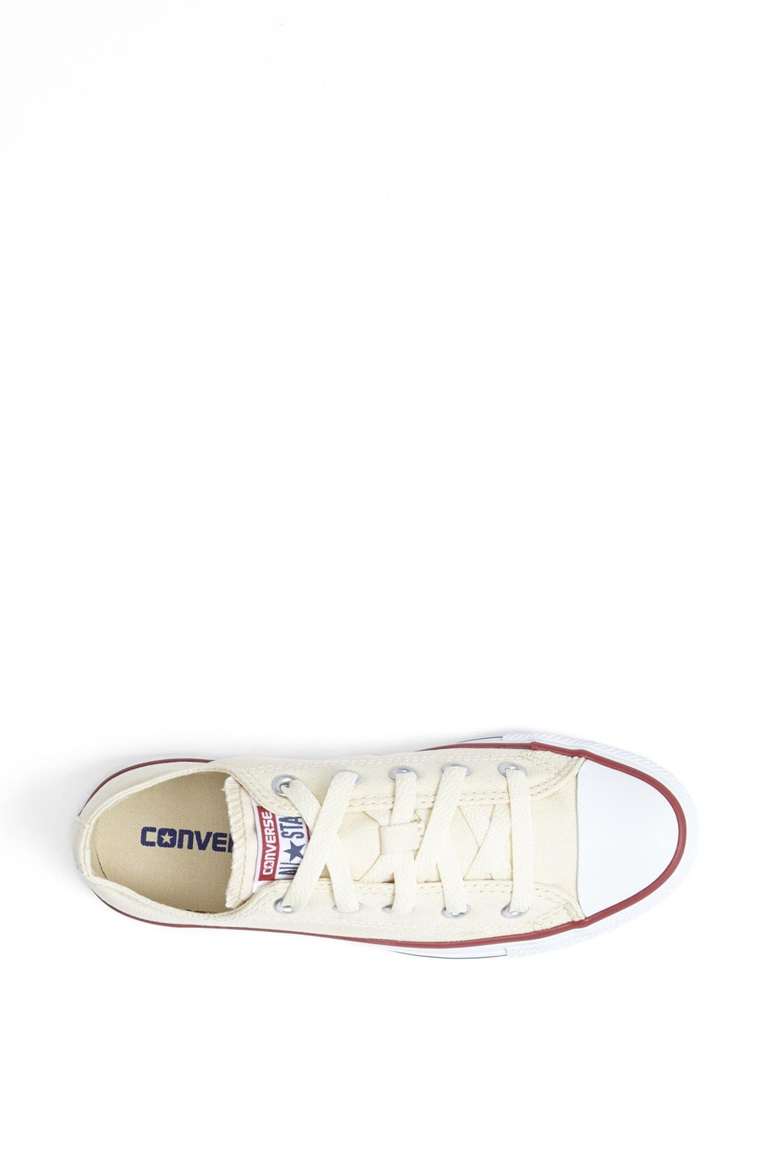 CONVERSE,                             Chuck Taylor<sup>®</sup> All Star<sup>®</sup> 'Ox' Sneaker,                             Alternate thumbnail 3, color,                             100