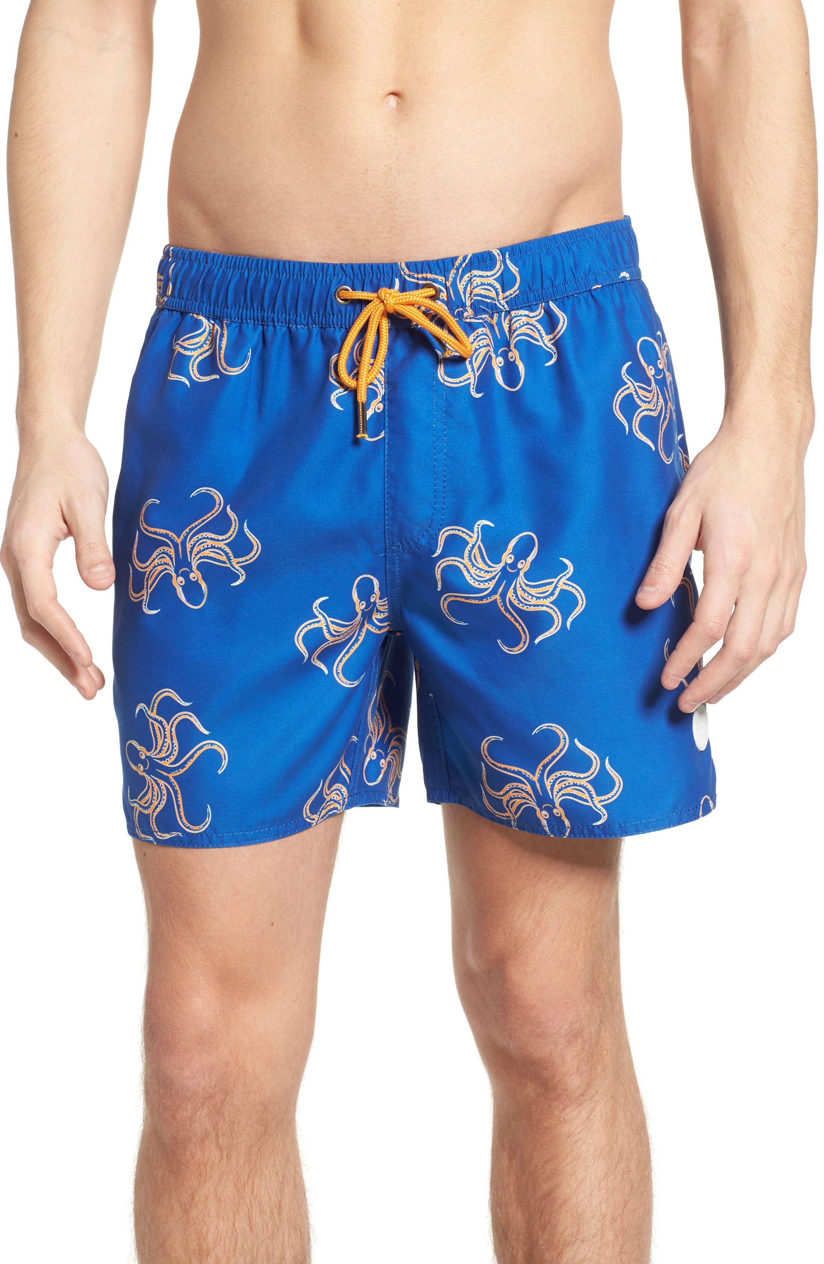 Endemic Swim Trunks,                         Main,                         color, BLUE