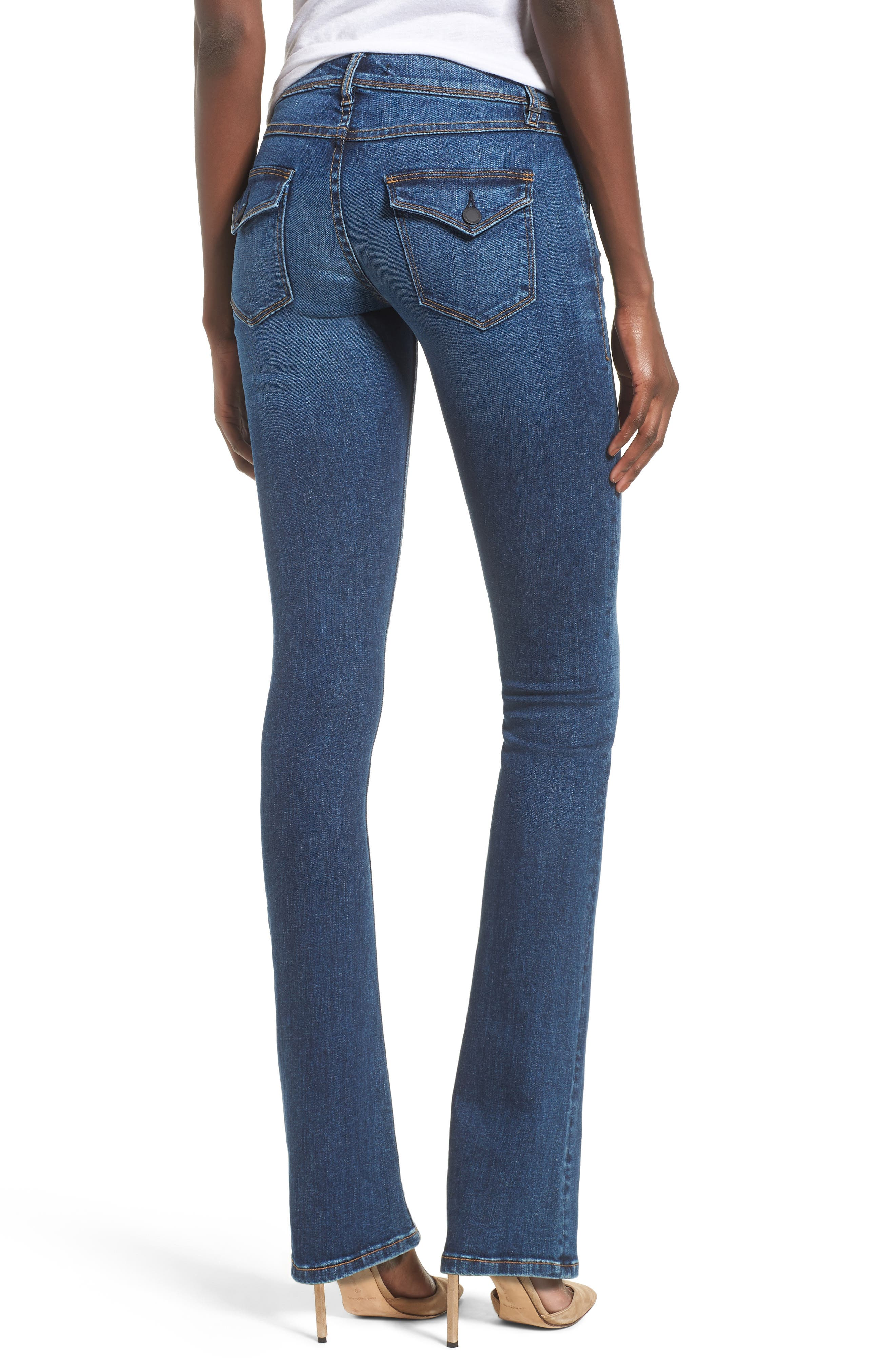 Beth Baby Bootcut Jeans,                             Alternate thumbnail 2, color,                             FENIMORE