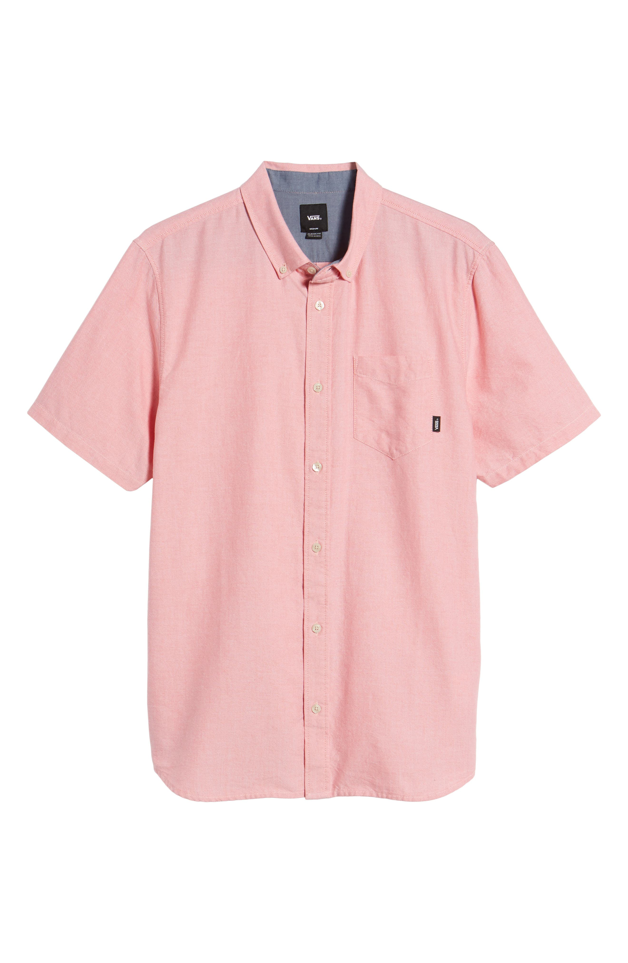 Houser Solid Woven Shirt,                             Alternate thumbnail 6, color,                             950