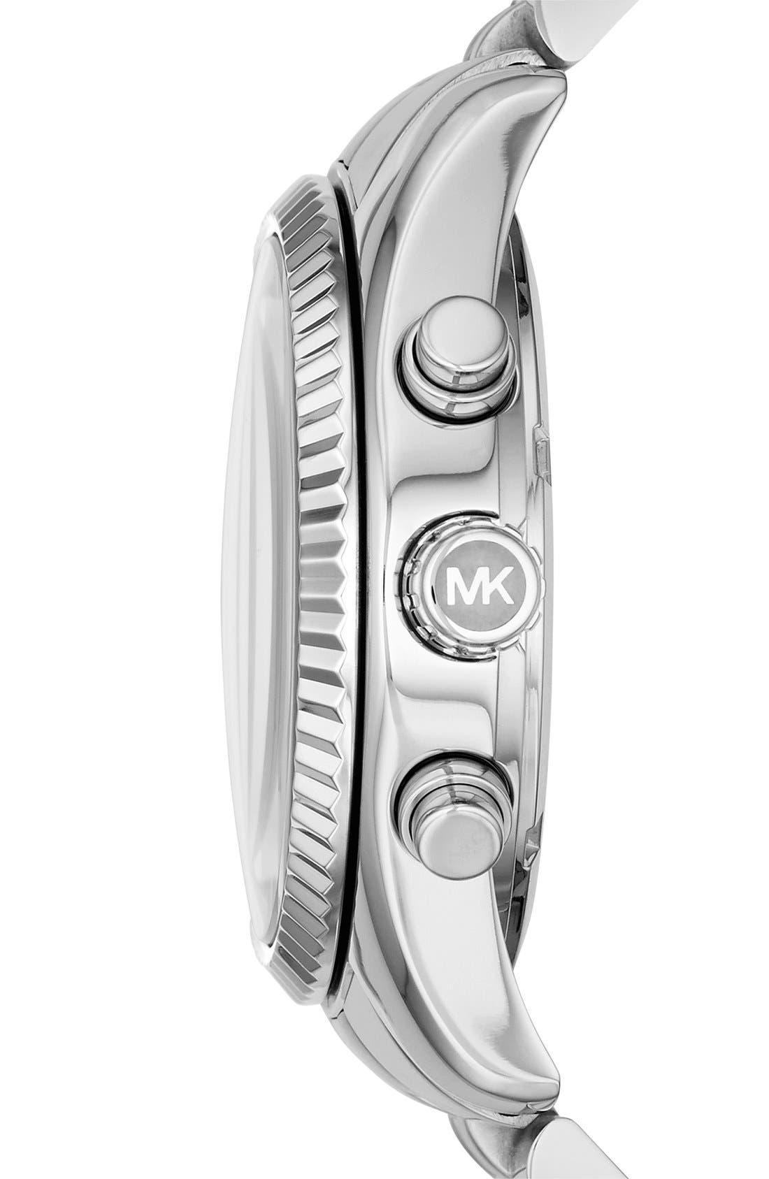 'Lexington' Chronograph Bracelet Watch, 38mm,                             Alternate thumbnail 17, color,
