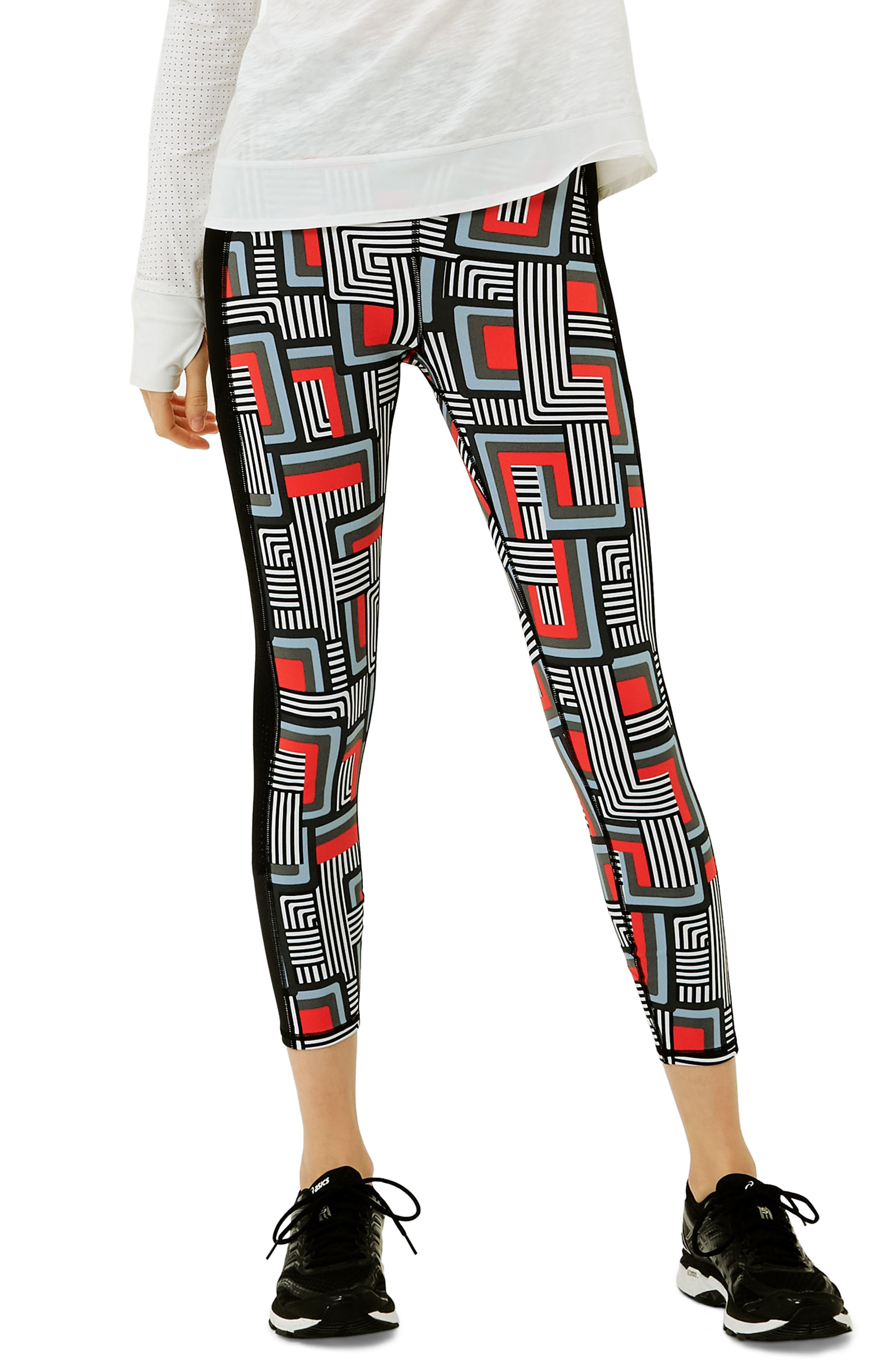 Zero Gravity Ankle Leggings,                             Main thumbnail 1, color,                             001
