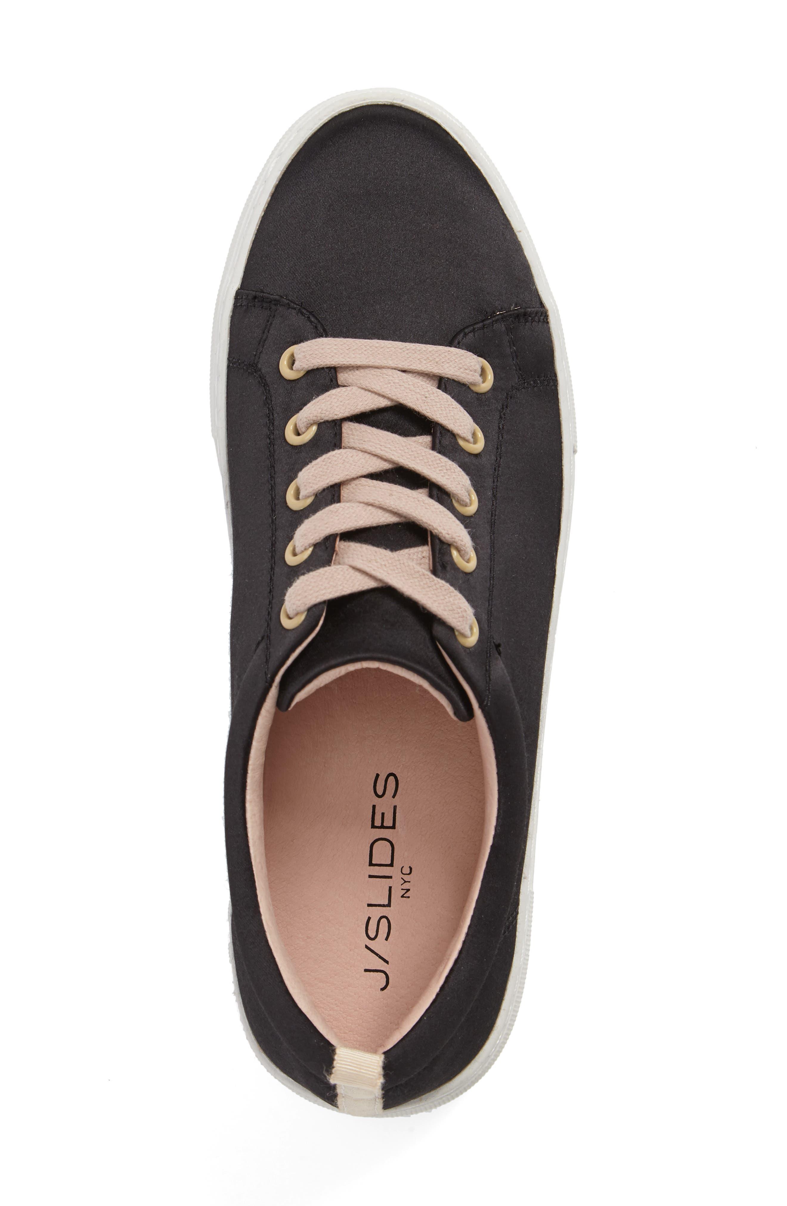 Amber Platform Sneaker,                             Alternate thumbnail 5, color,                             005