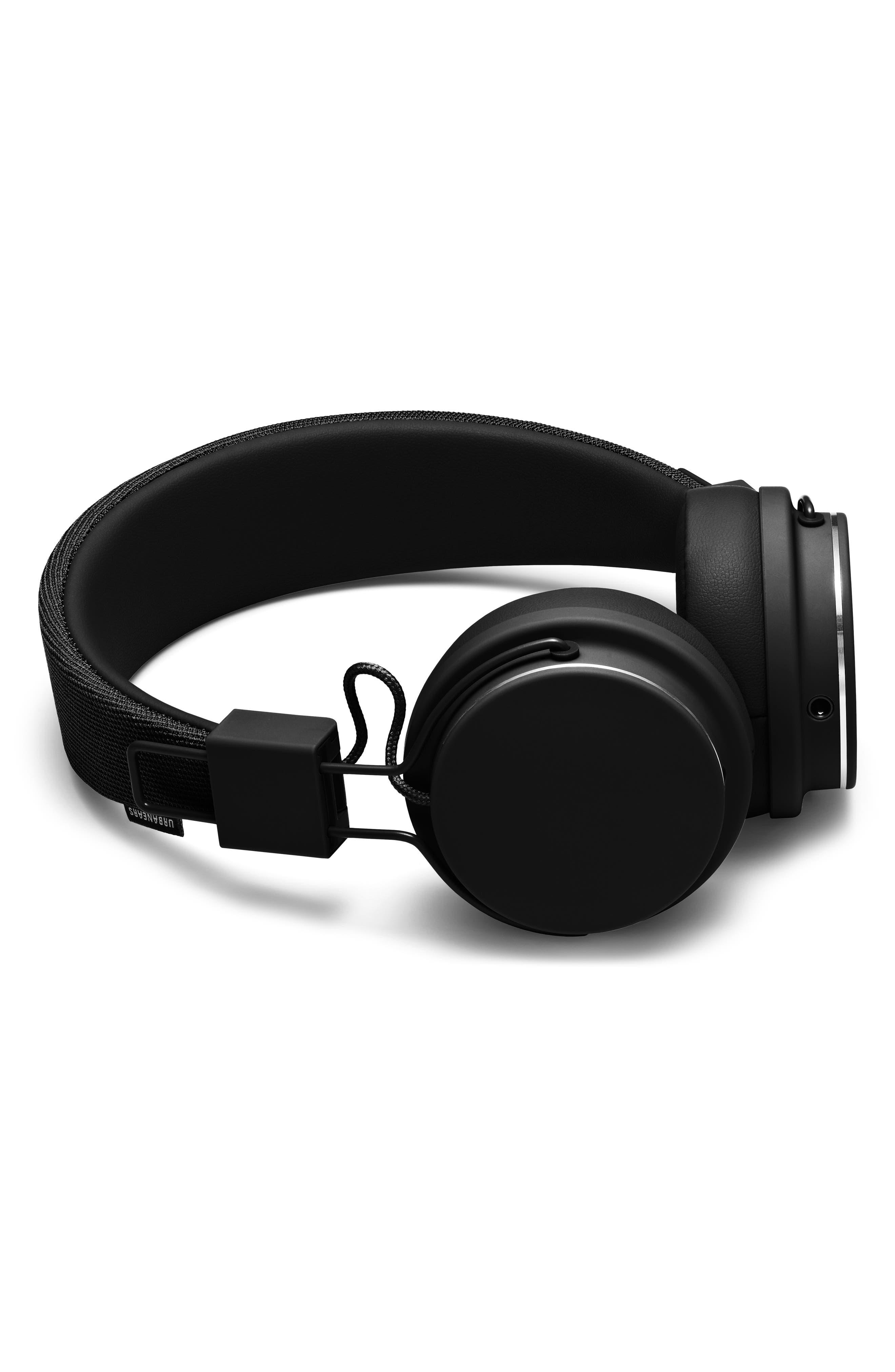 Plattan II On-Ear Headphones,                             Alternate thumbnail 2, color,                             BLACK