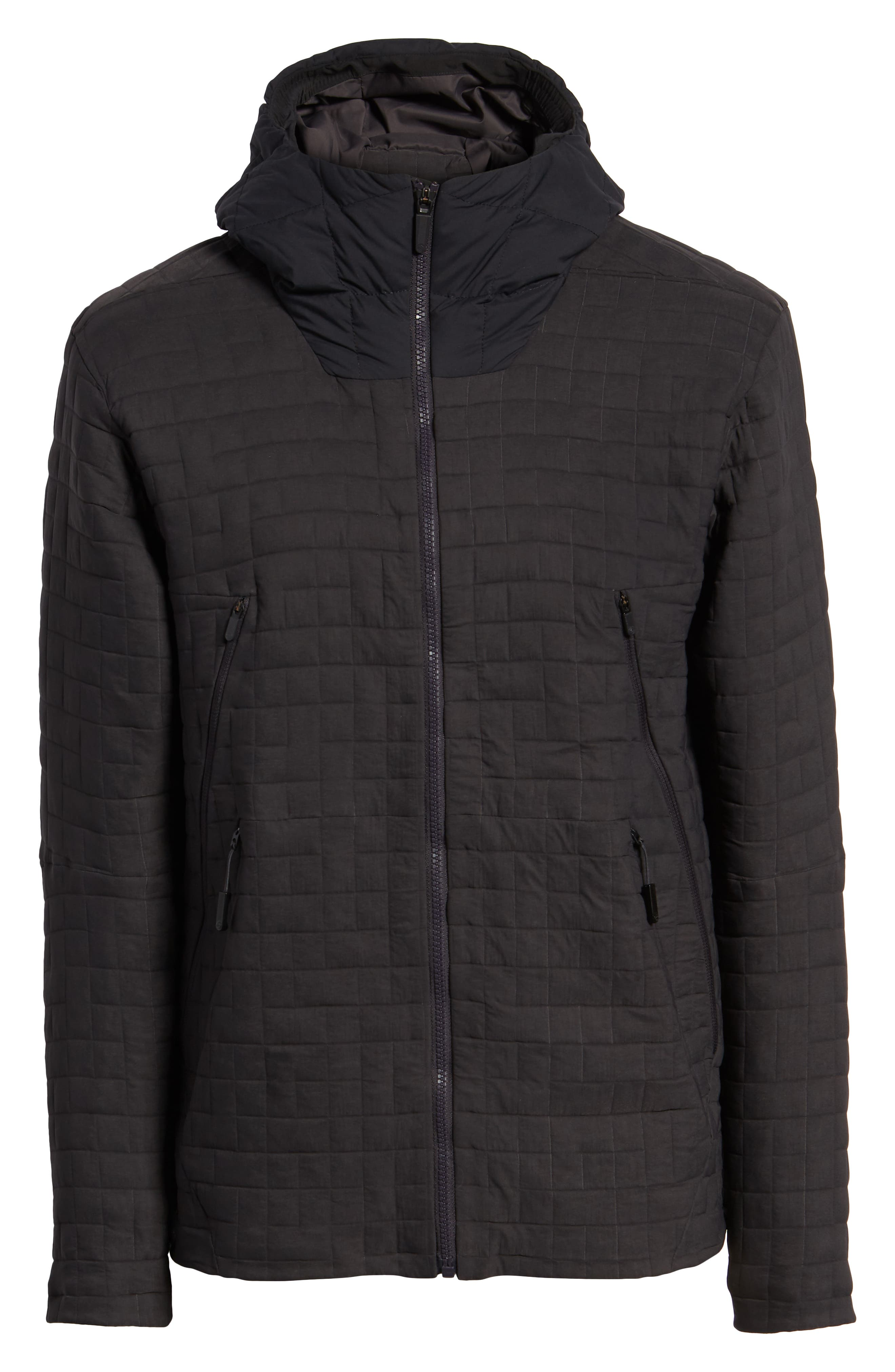 THE NORTH FACE,                             Cryos SingleCell Insulated Hooded Jacket,                             Alternate thumbnail 6, color,                             001