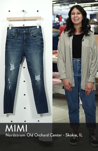 Ellie Ripped High Rise Cropped Jeans, sales video thumbnail