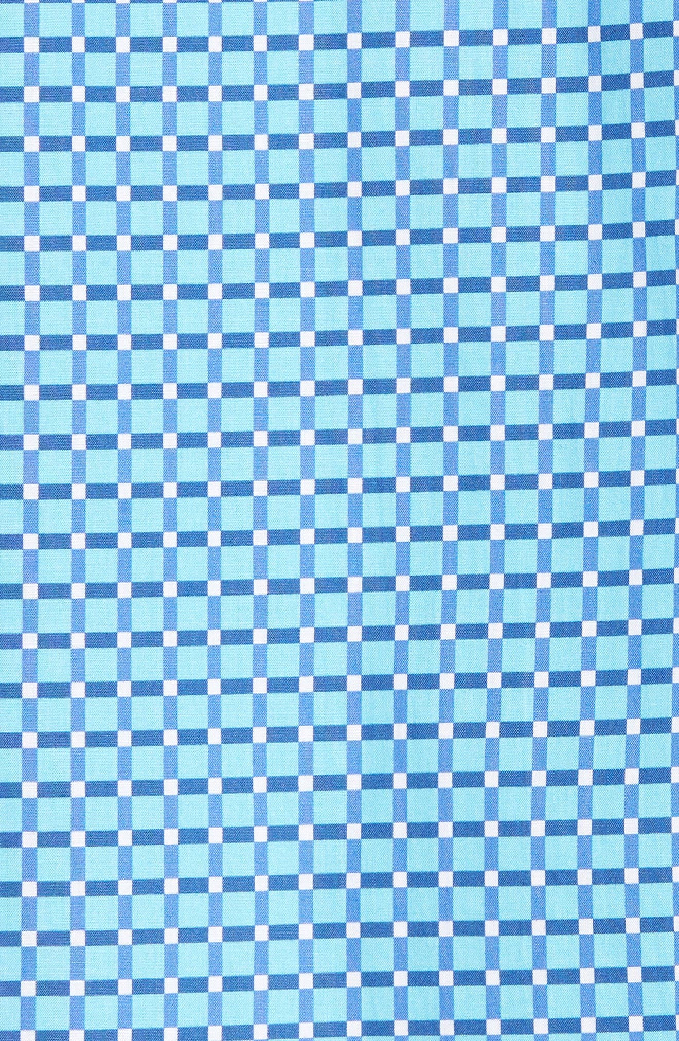 Shaped Fit Print Sport Shirt,                             Alternate thumbnail 22, color,