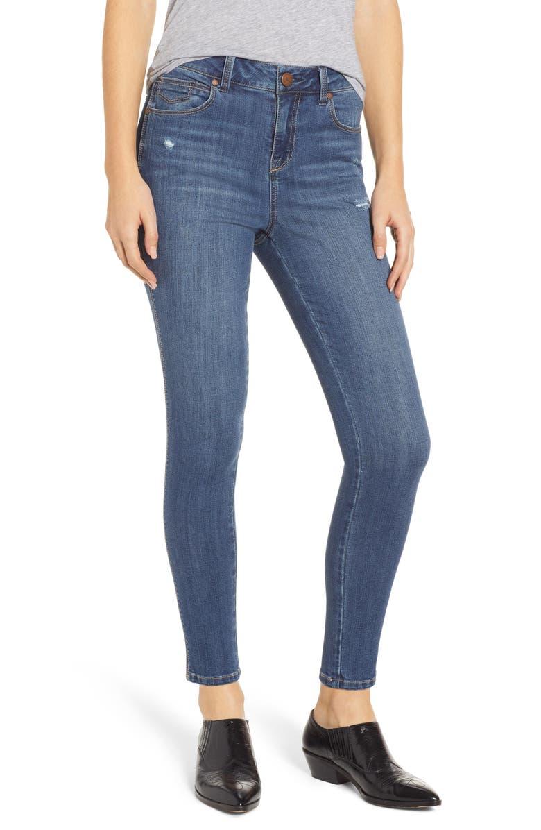 dd8cc8590a6 1822 Denim Distressed Skinny Jeans (Sublime)