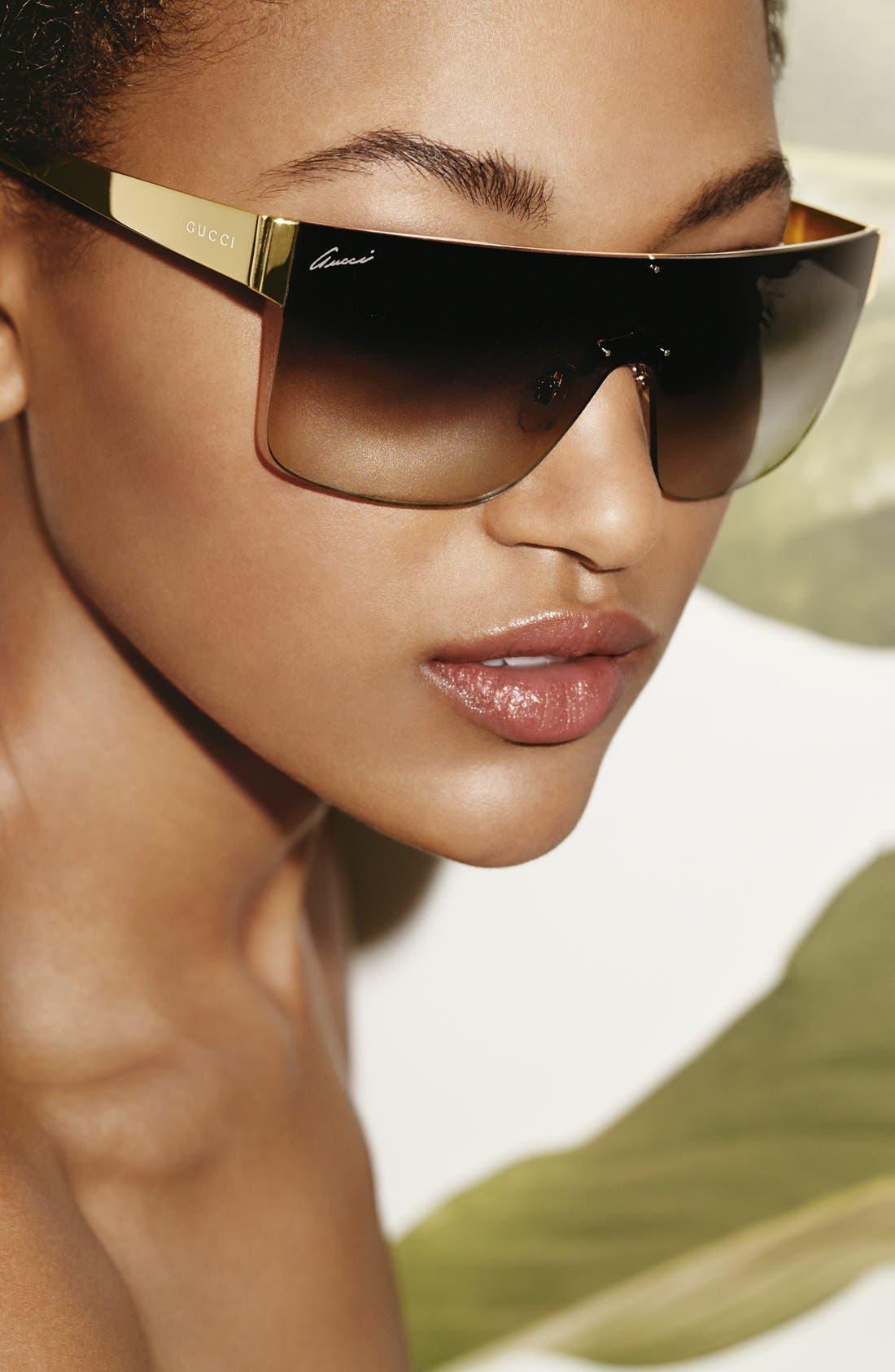 99mm Shield Sunglasses,                             Alternate thumbnail 4, color,                             710