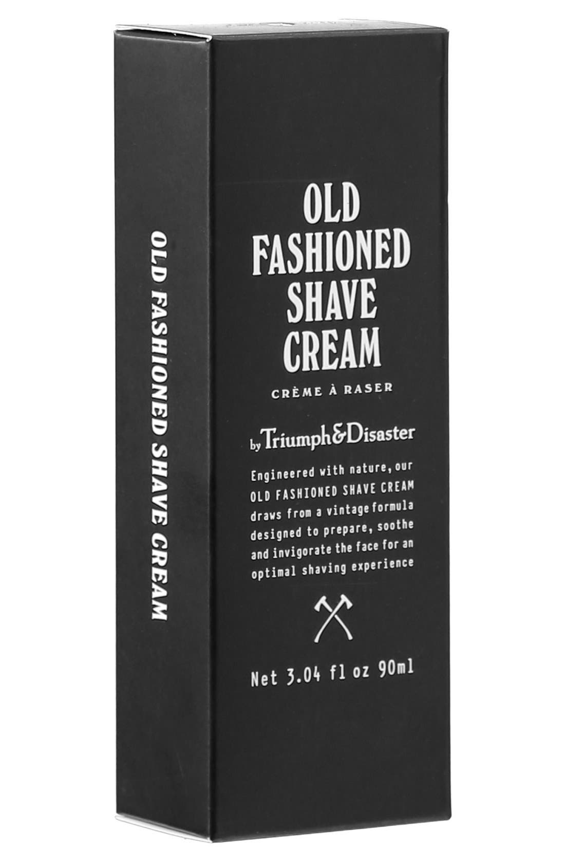 Old Fashioned Shave Cream Tube,                             Alternate thumbnail 2, color,                             NO COLOR