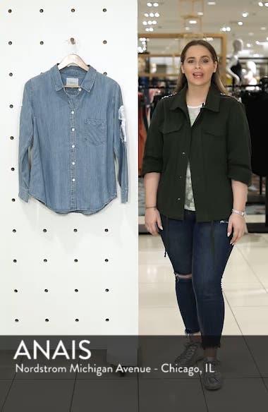 Ingrid Embroidered Chambray Shirt, sales video thumbnail