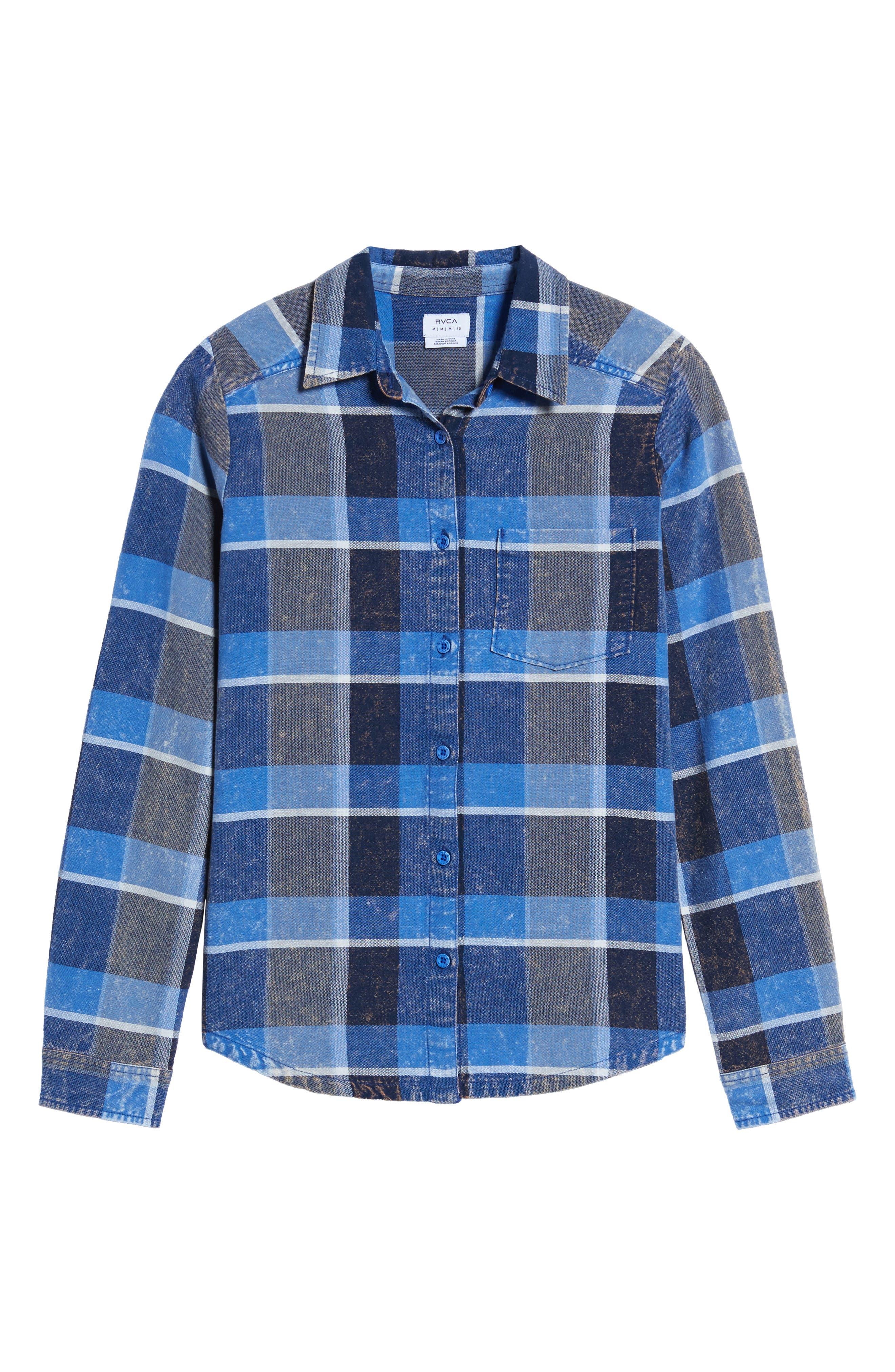 Pops Cotton Plaid Shirt,                             Alternate thumbnail 6, color,                             400