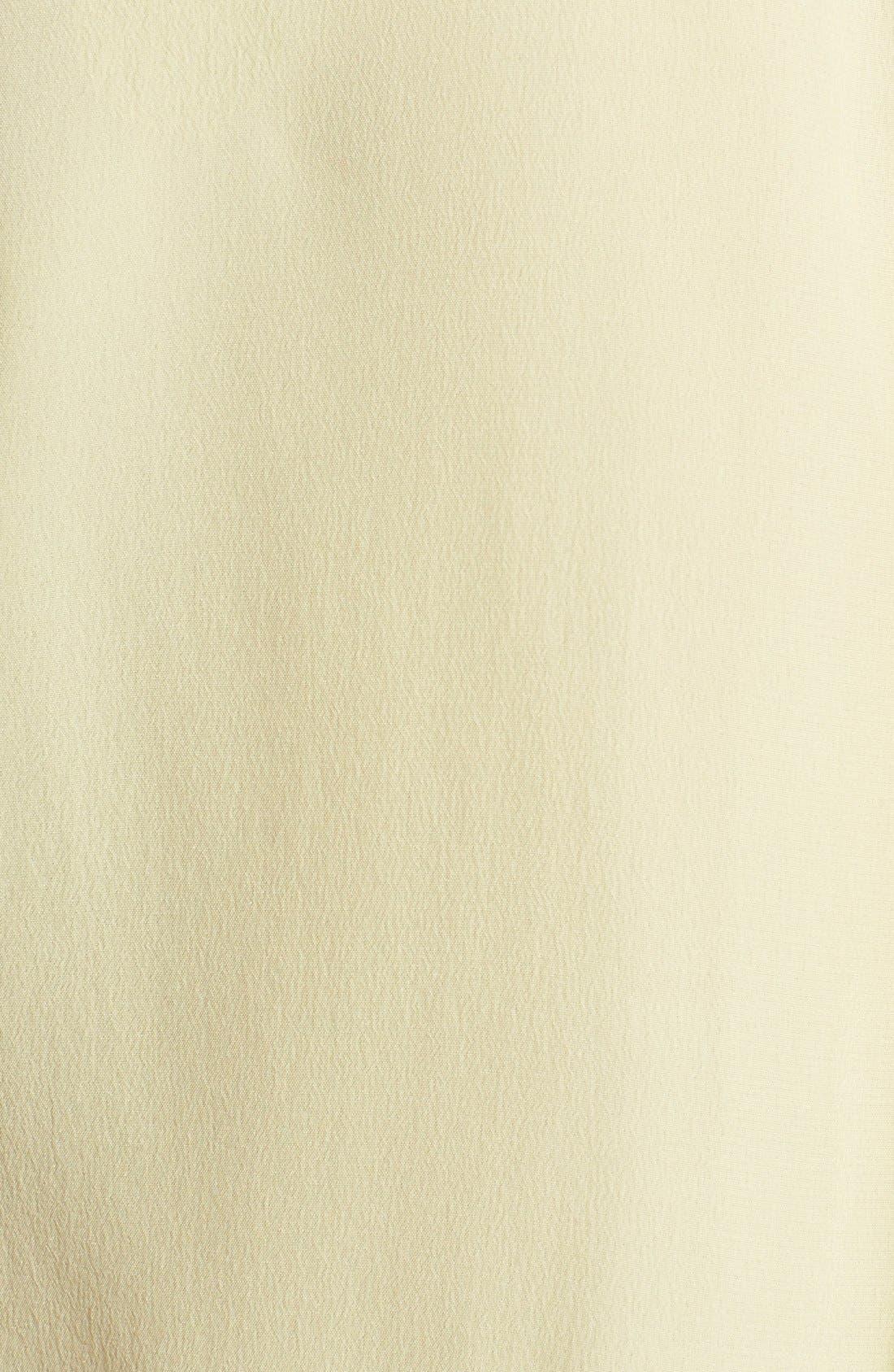 'Slim Signature' Sleeveless Silk Shirt,                             Alternate thumbnail 95, color,