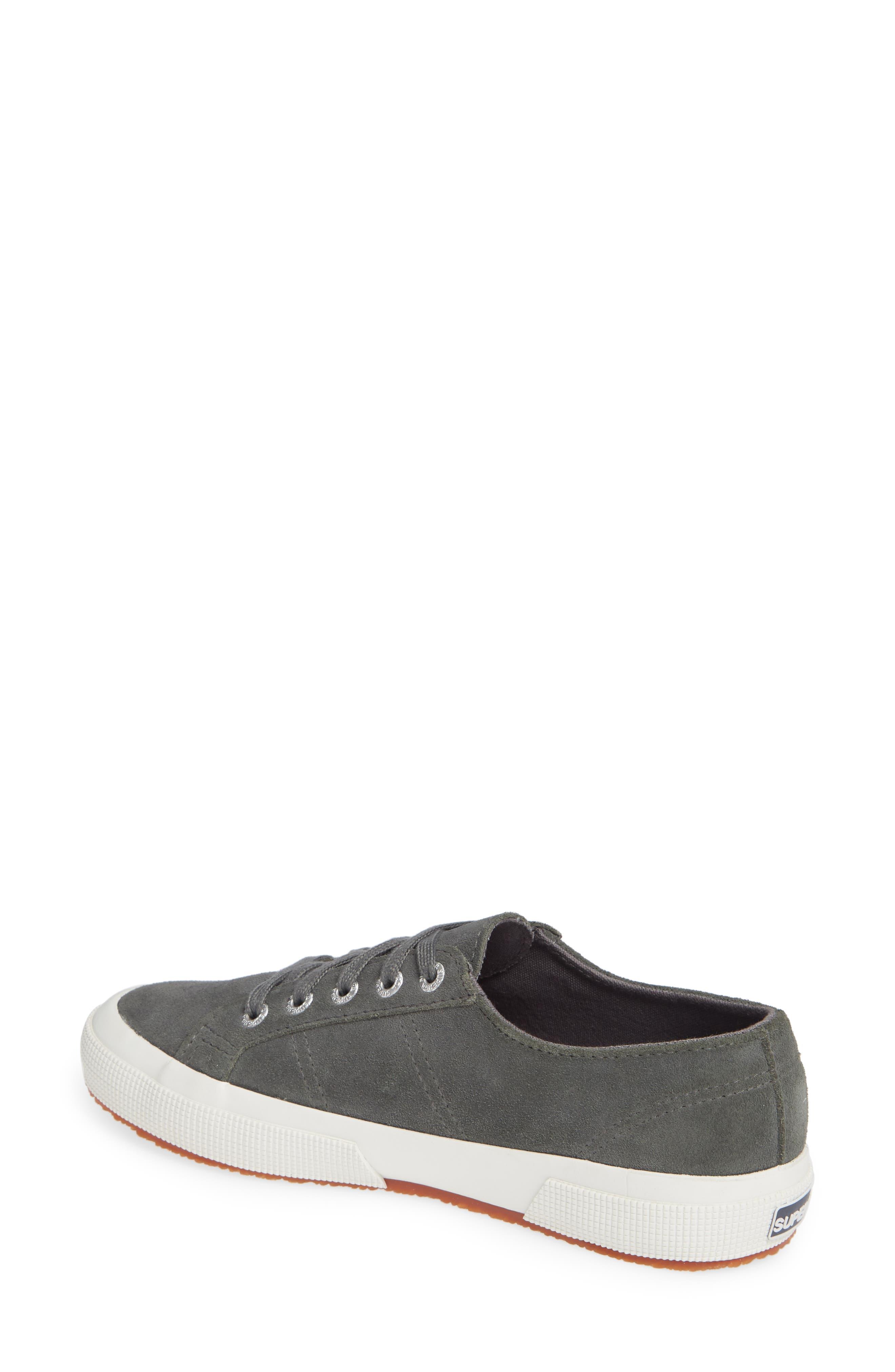 2750 Suecotw Low Top Sneaker,                             Alternate thumbnail 2, color,                             DARK GREY SUEDE