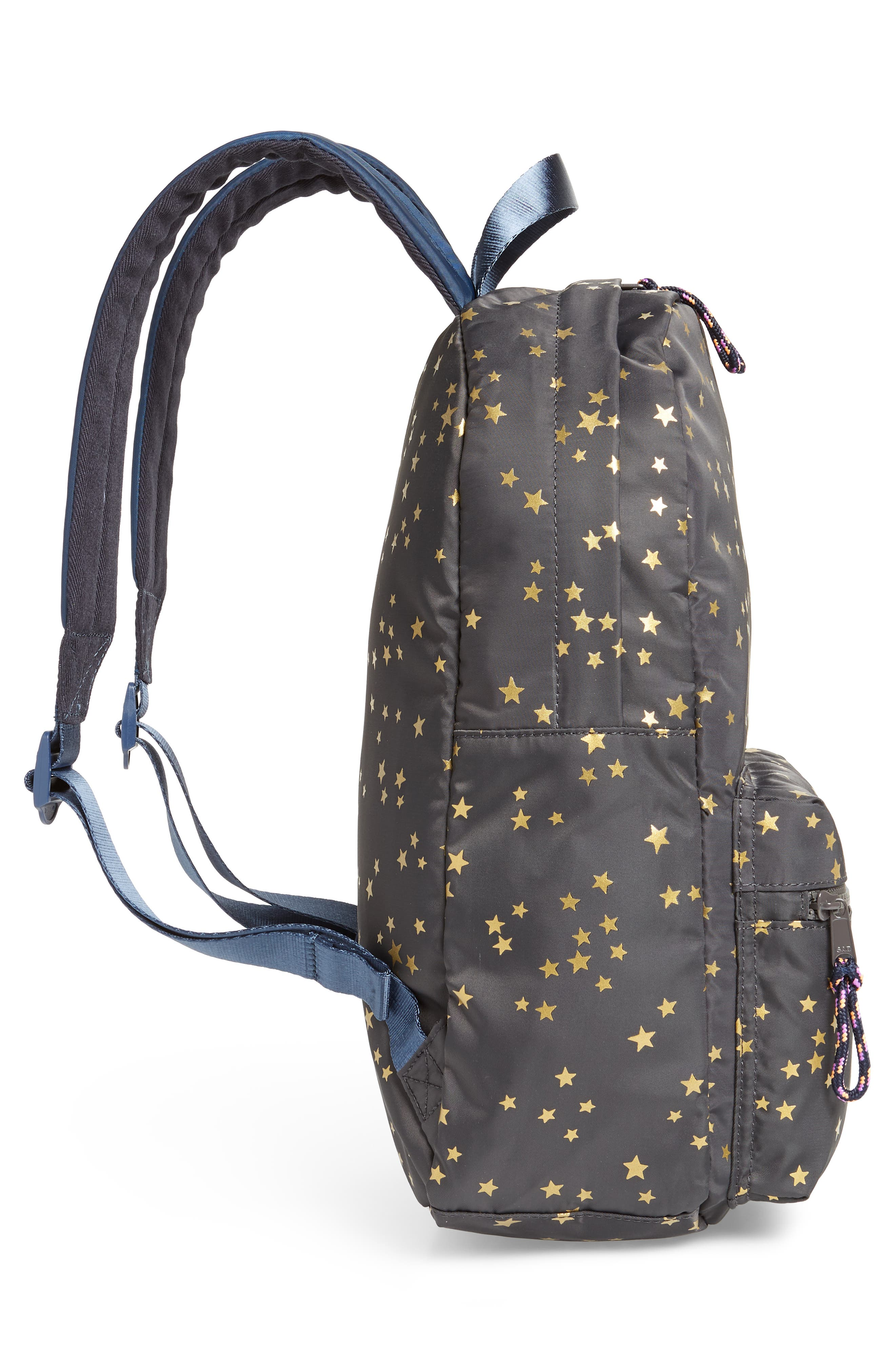 Gold Star Backpack,                             Alternate thumbnail 4, color,                             SOFT CHARCOAL